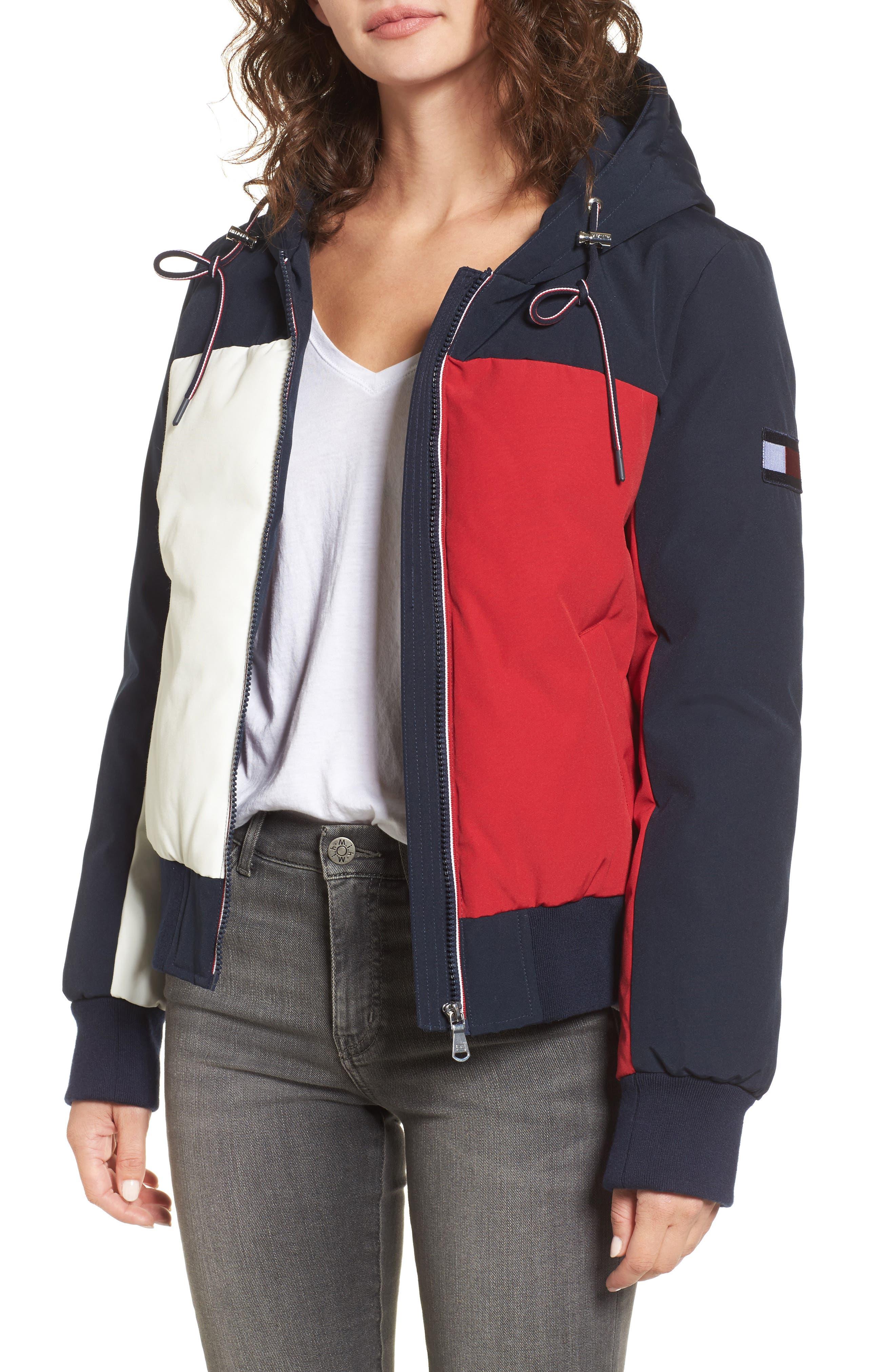 Tommy Hilfiger Hooded Colorblock Jacket