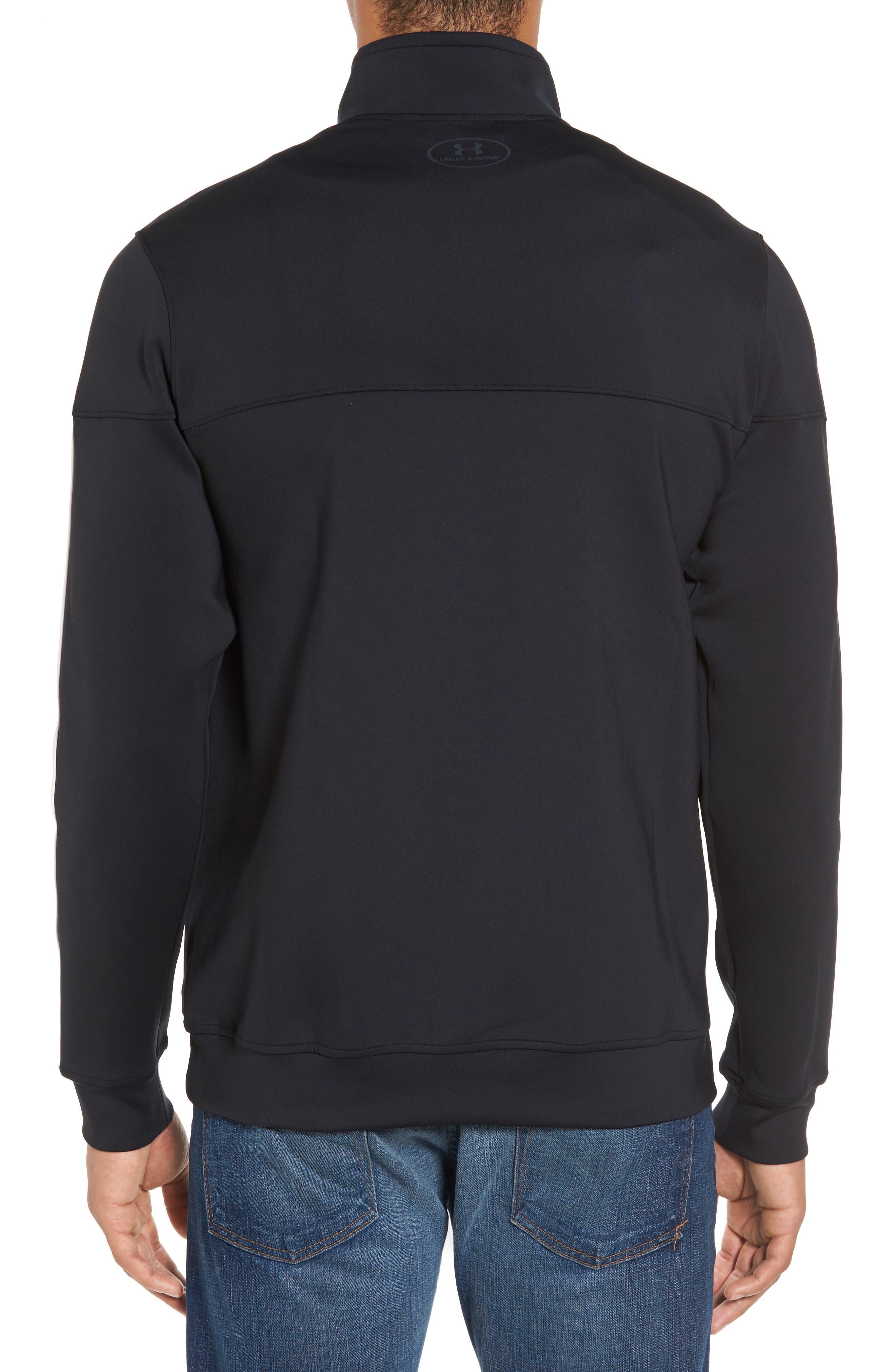 Sportstyle Track Jacket,                             Alternate thumbnail 2, color,                             Black / / Black