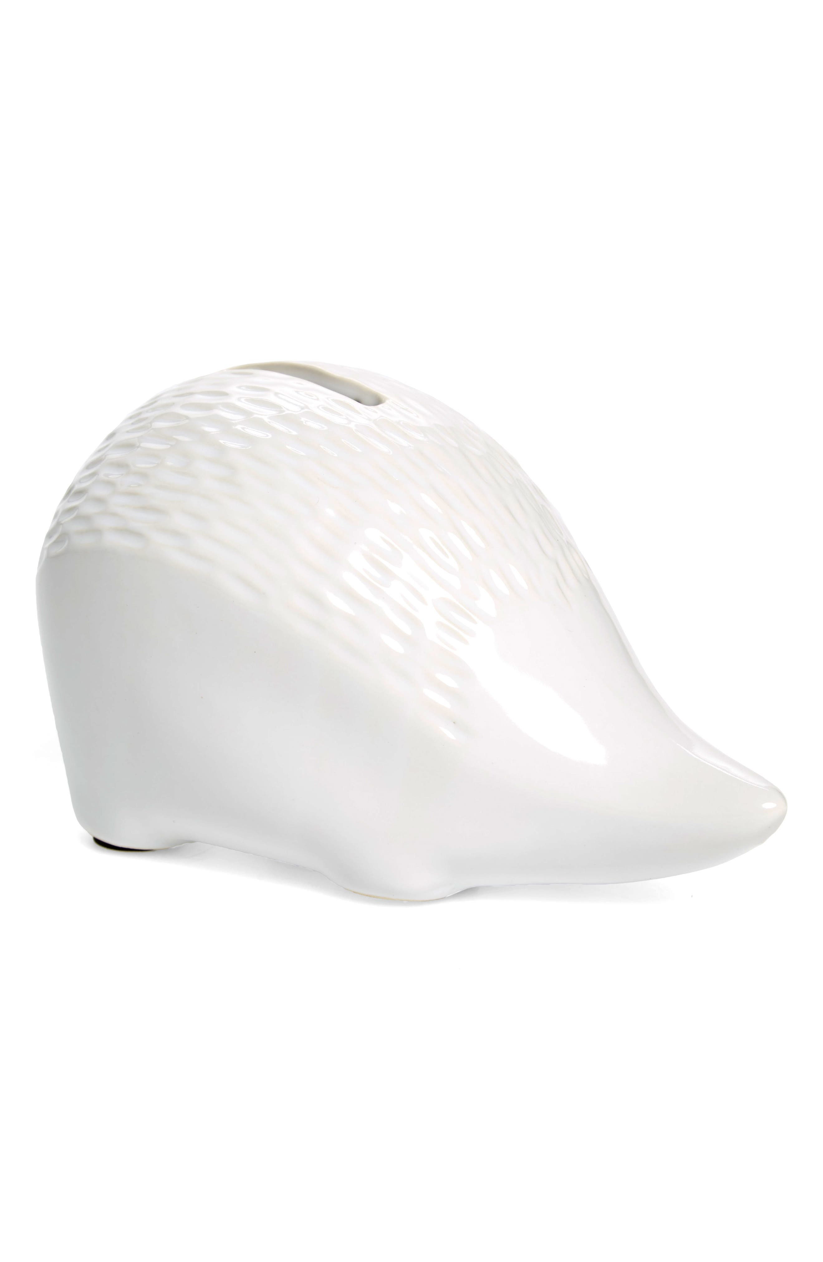 Harry the Hedgefund Coin Bank,                         Main,                         color, White