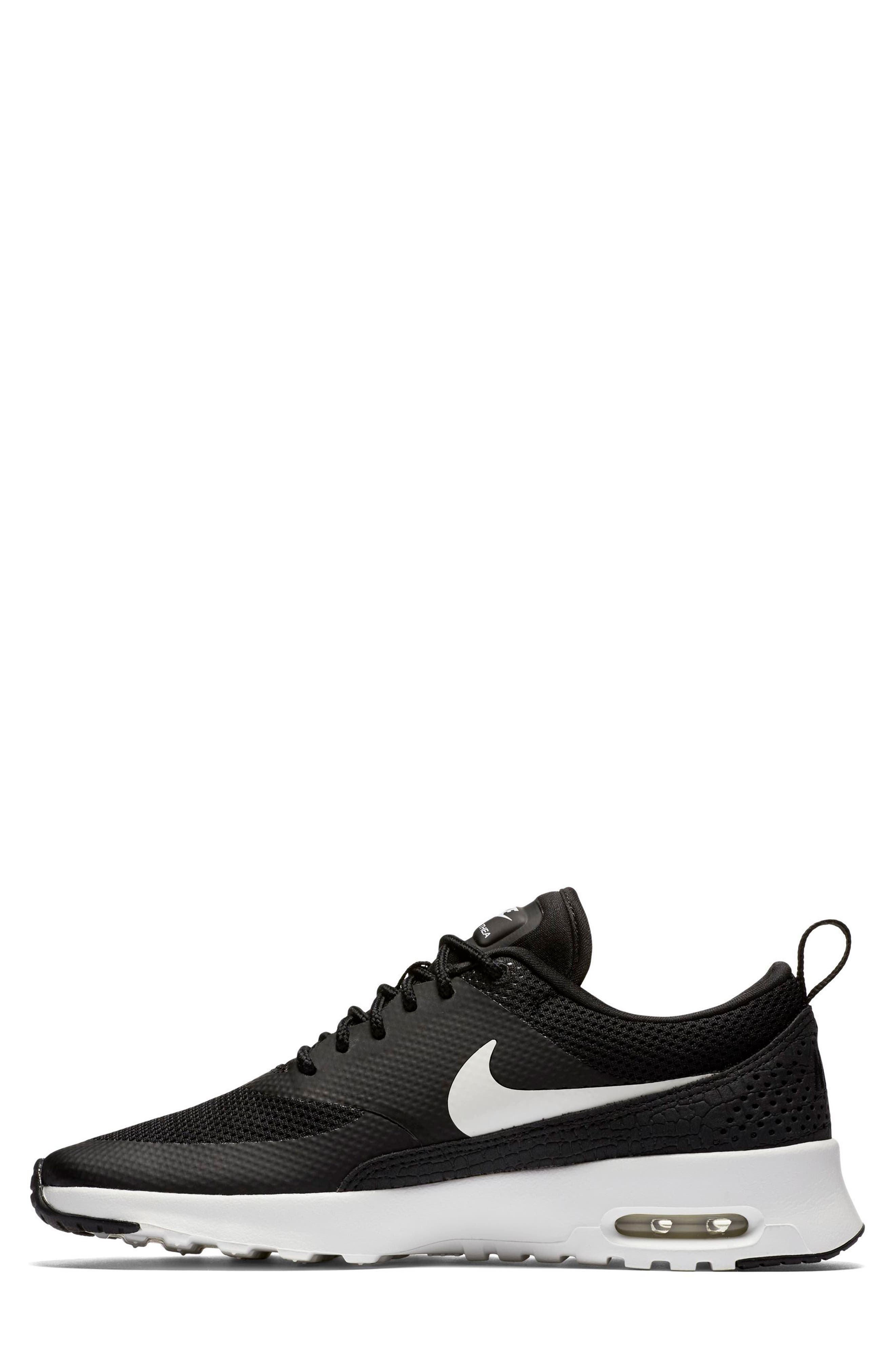 Air Max Thea Sneaker,                             Alternate thumbnail 2, color,                             Black/ Summit White