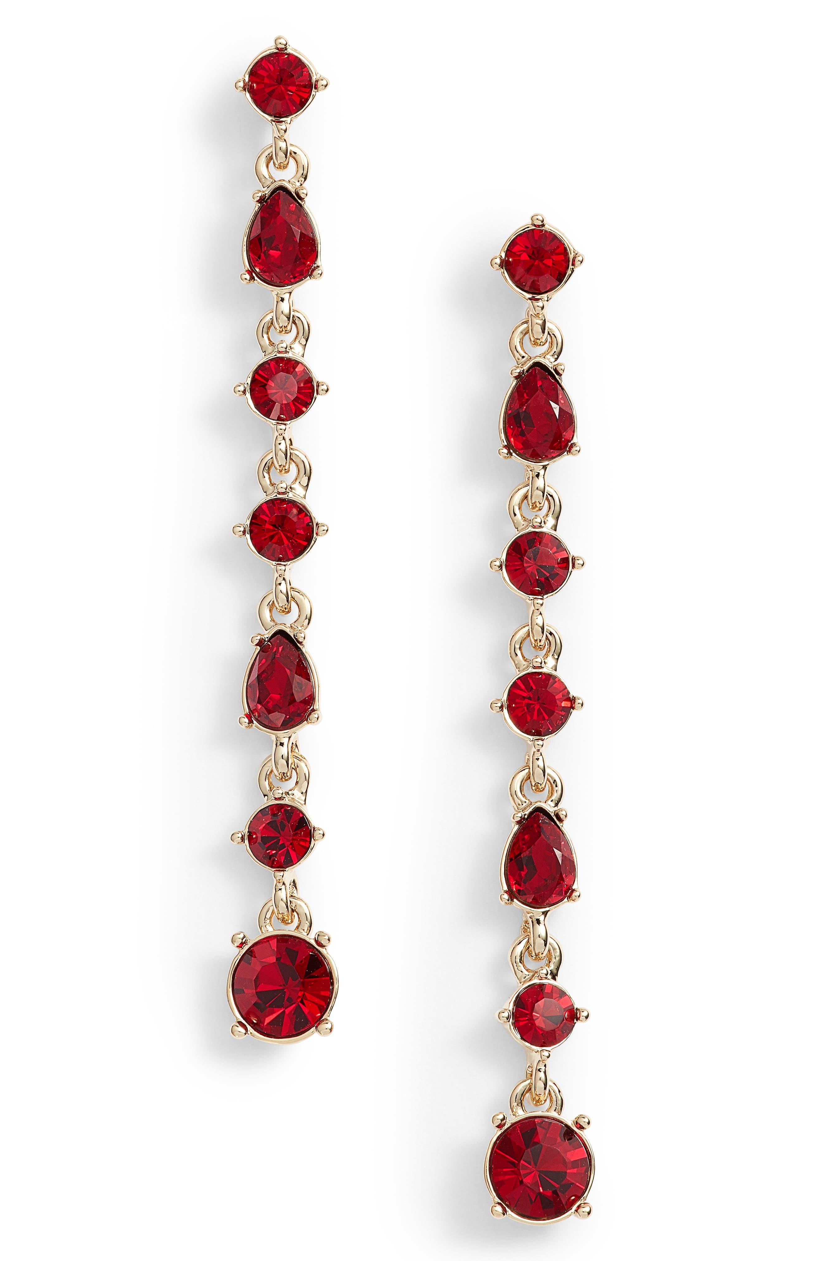 Givenchy Linear Drop Earrings