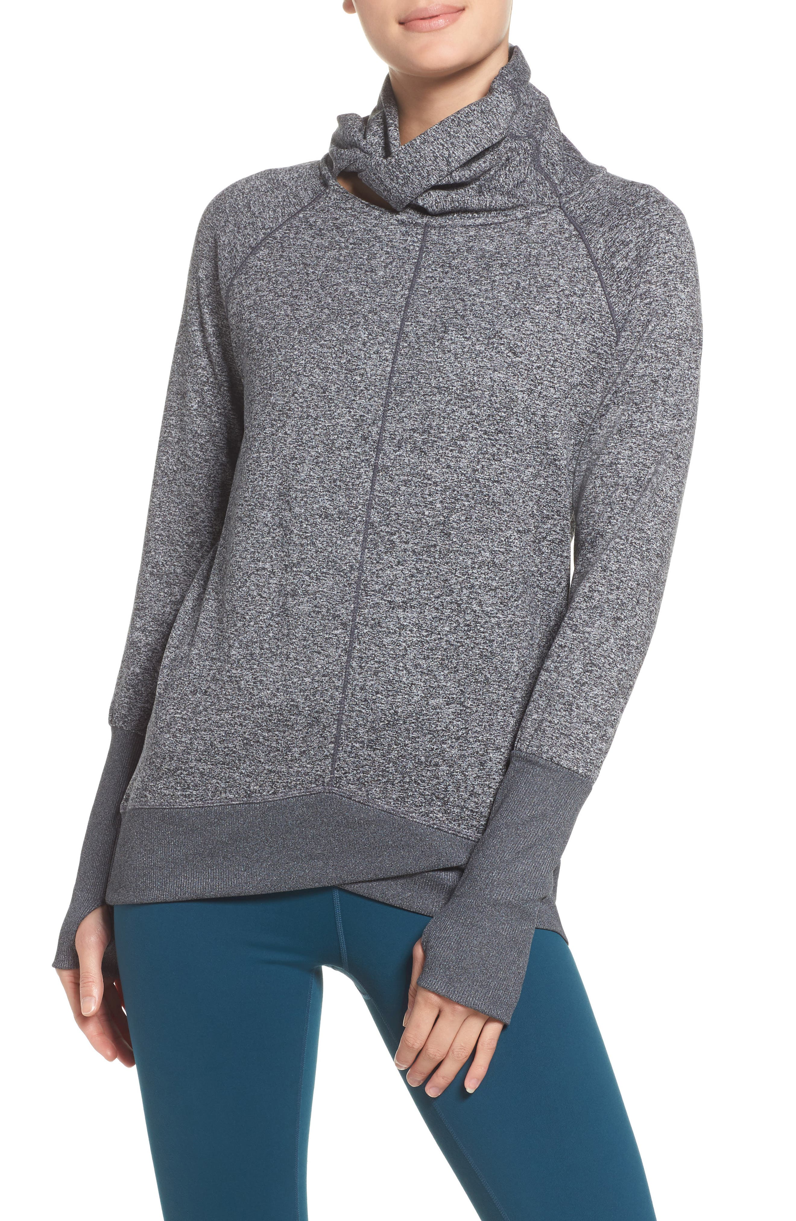 Alternate Image 1 Selected - Zella Gwen Cozy Pullover
