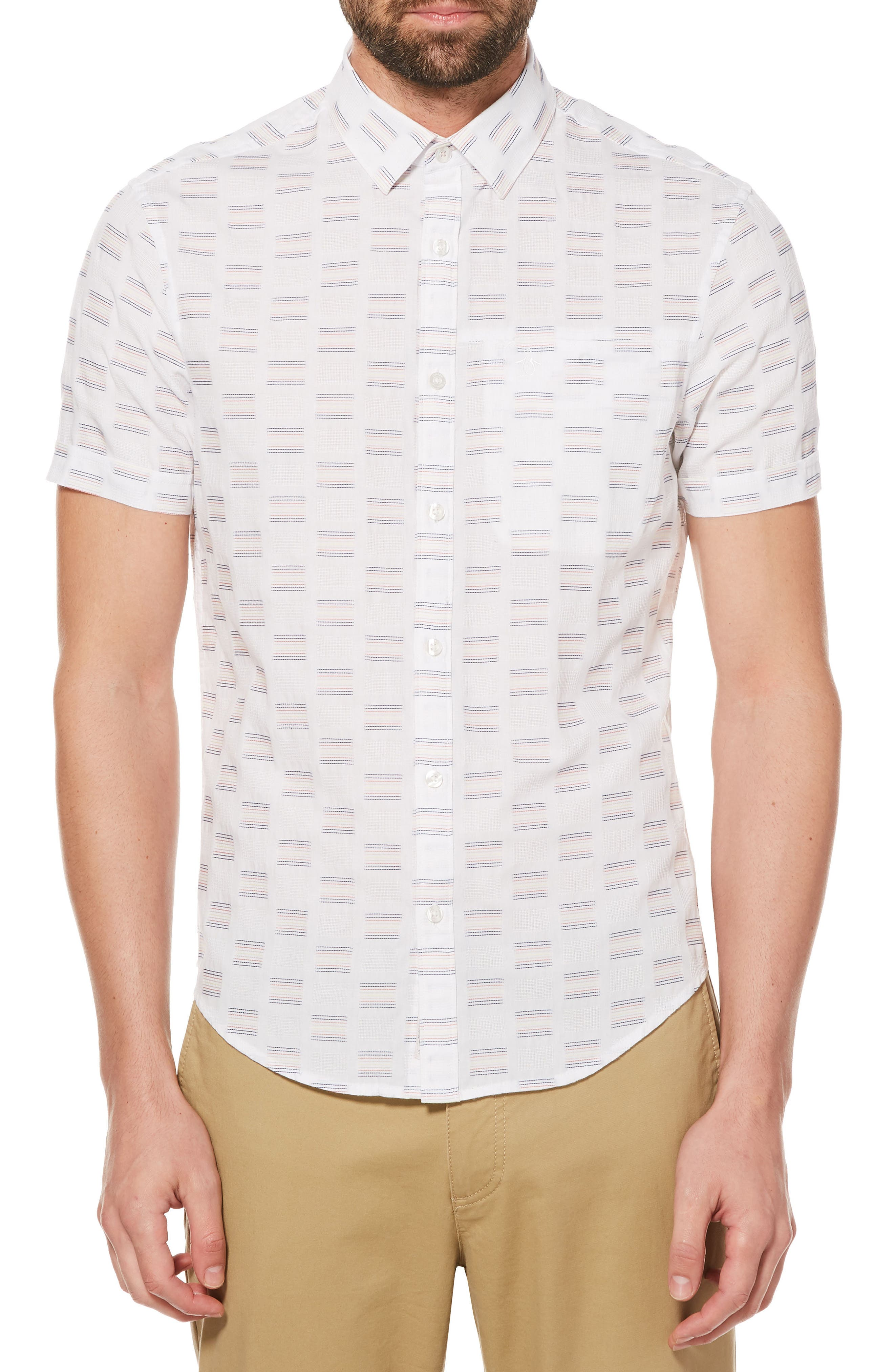 Main Image - Original Penguin 8-Bit Dobby Shirt