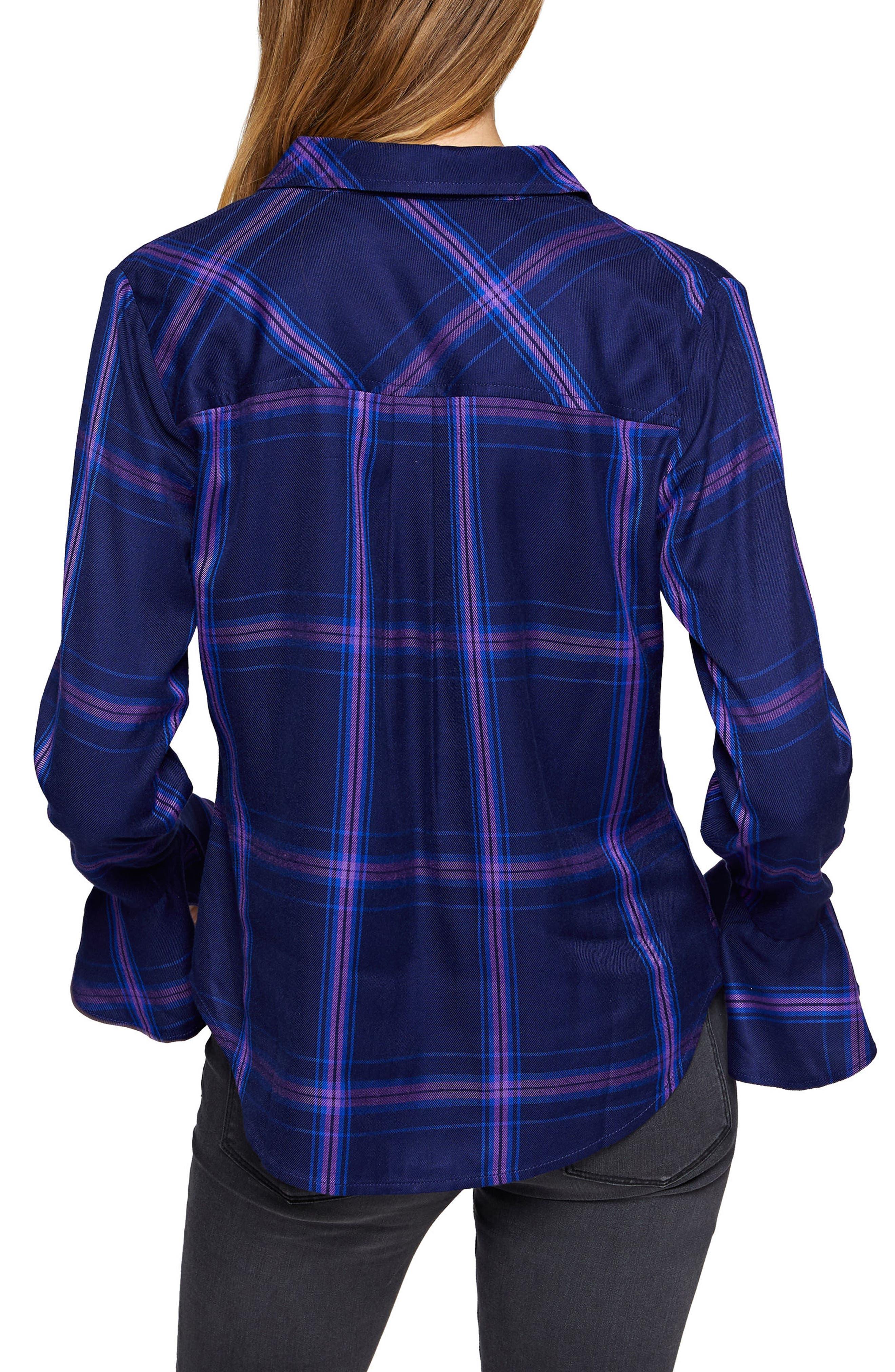 Nightscape Shirt,                             Alternate thumbnail 2, color,                             Nocturne Plaid