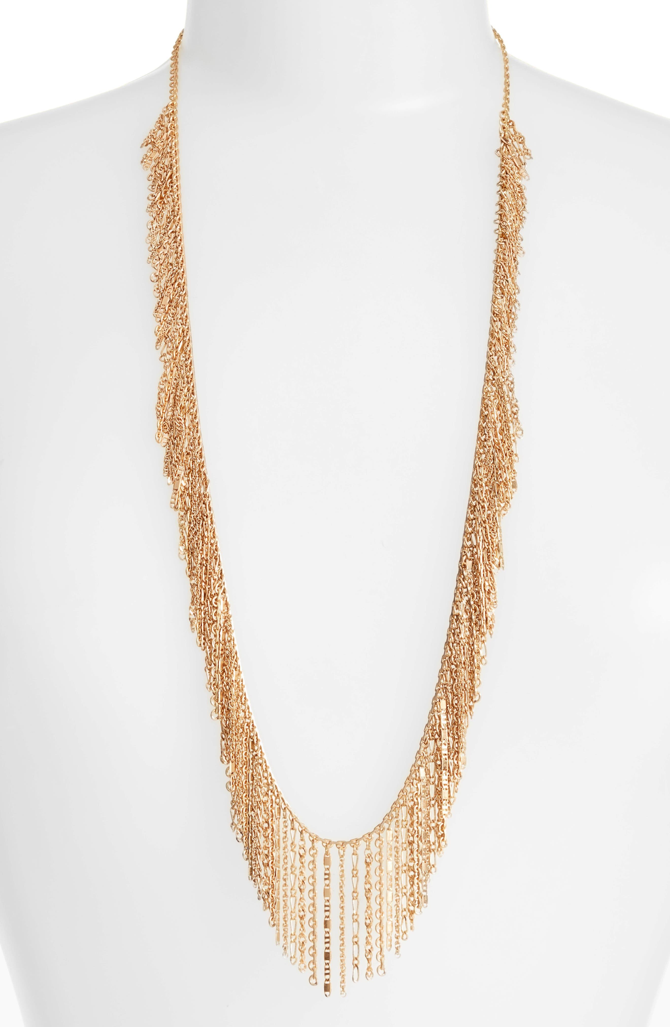 Treasure & Bond Long Link Necklace