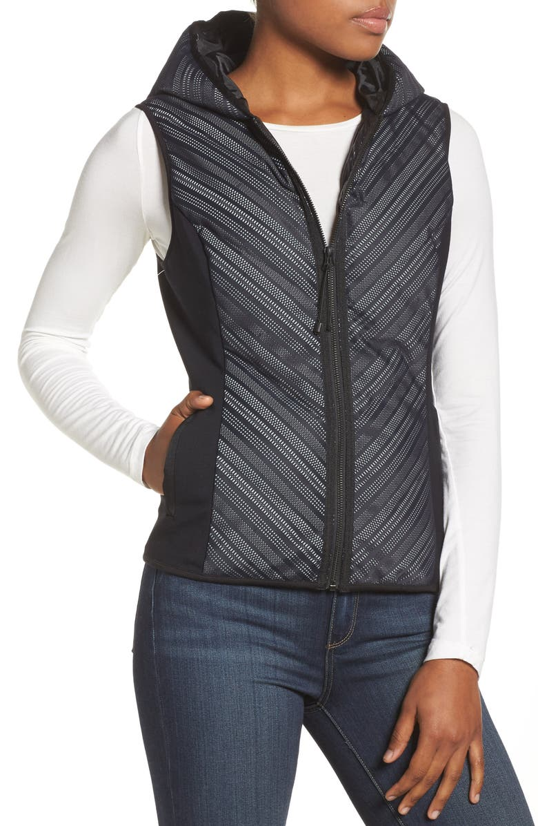 Chevron Reflective Down Vest
