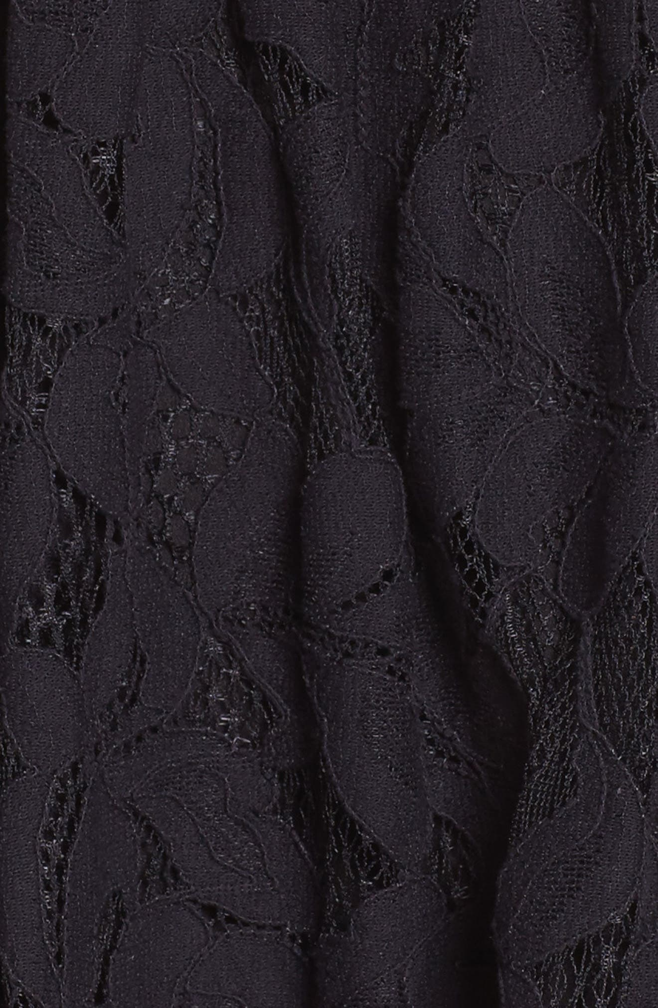 Alternate Image 6  - Ali & Jay Palais Royal Lace A-Line Dress