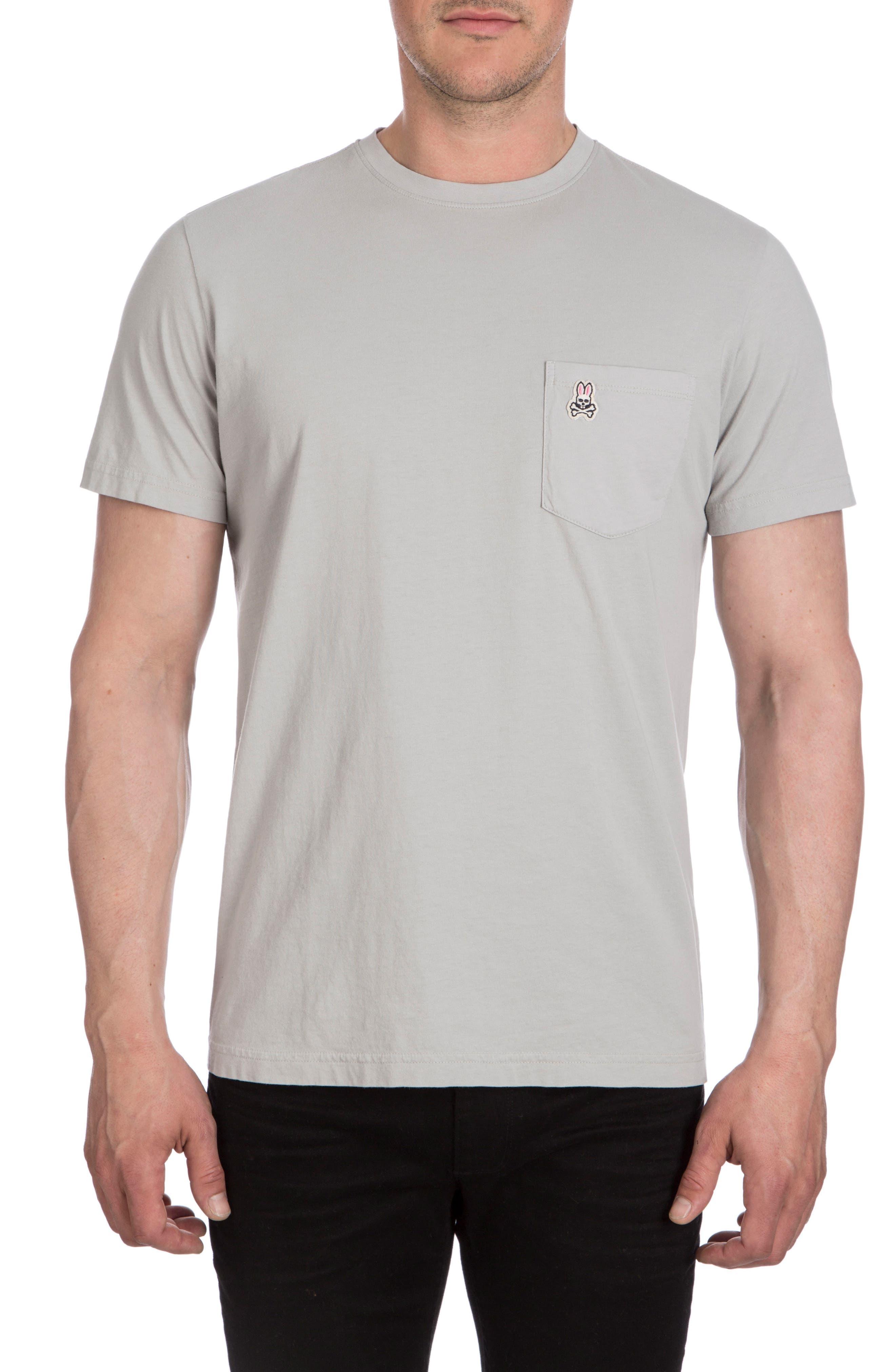 Langford Garment Dye T-Shirt,                         Main,                         color, Alloy