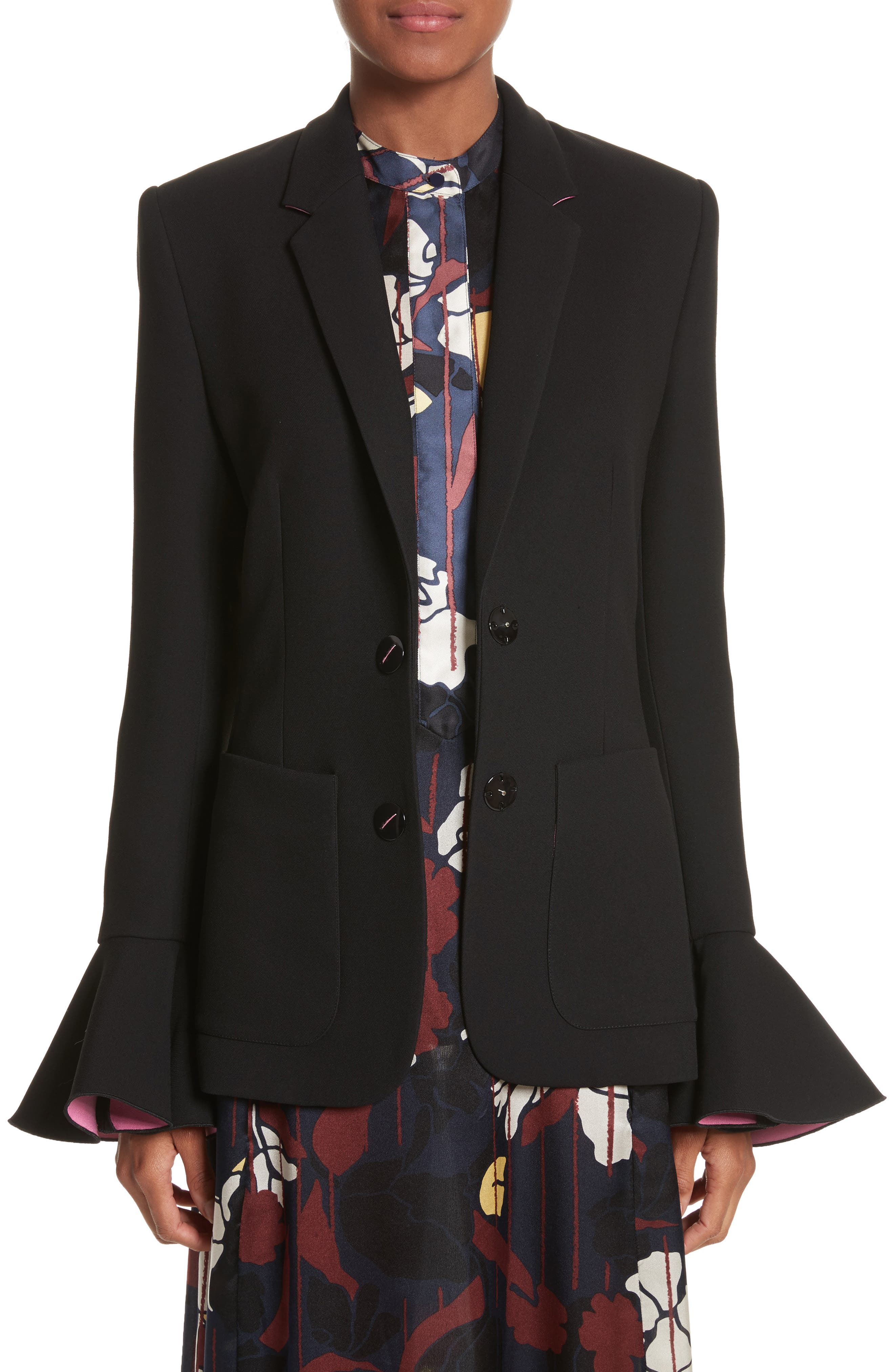 Riva Jacket,                             Main thumbnail 1, color,                             Black