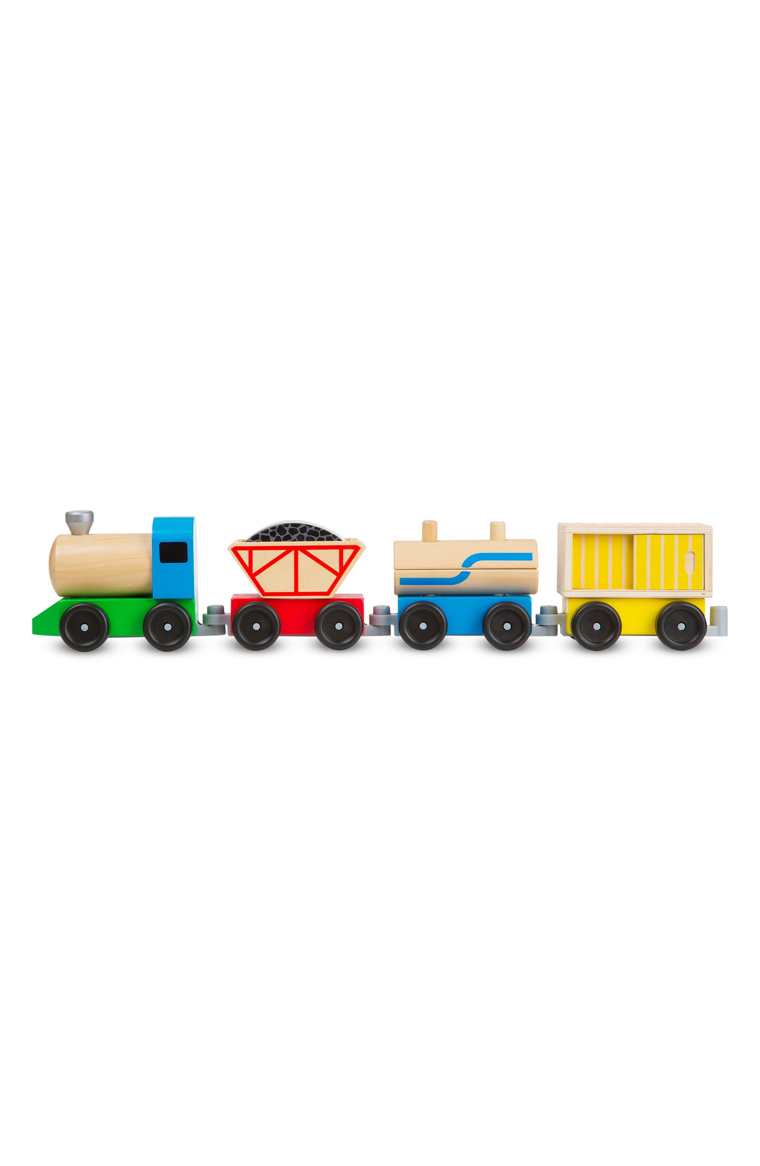 Cargo Train Set,                             Alternate thumbnail 2, color,                             Wood