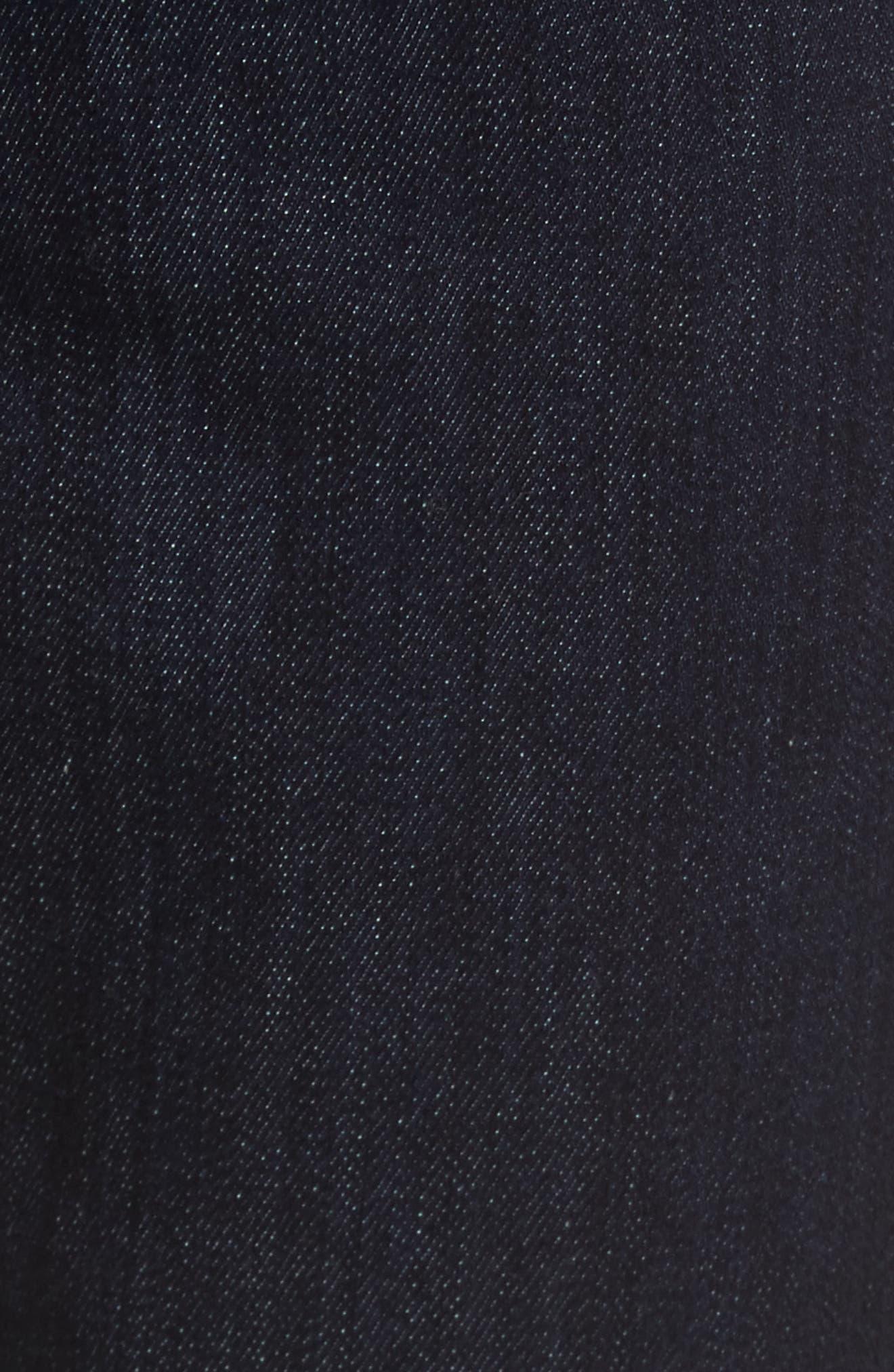 Alternate Image 5  - Fidelity Denim Vantage Skinny Fit Jeans (Galaxy Rinse)