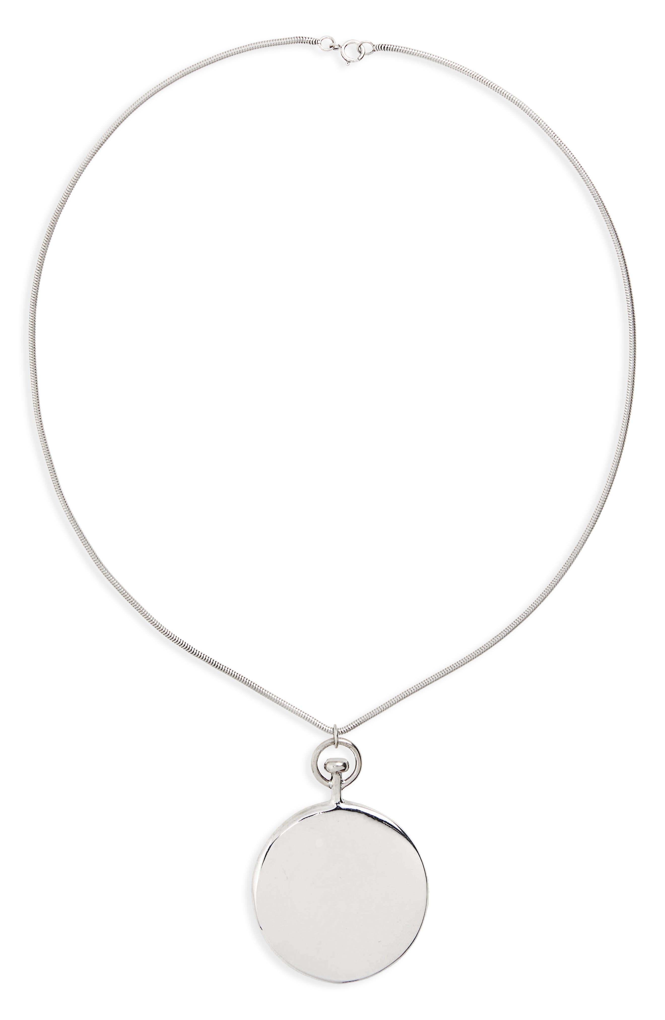Alternate Image 1 Selected - Sophie Buhai Short Large Circle Pendant Necklace