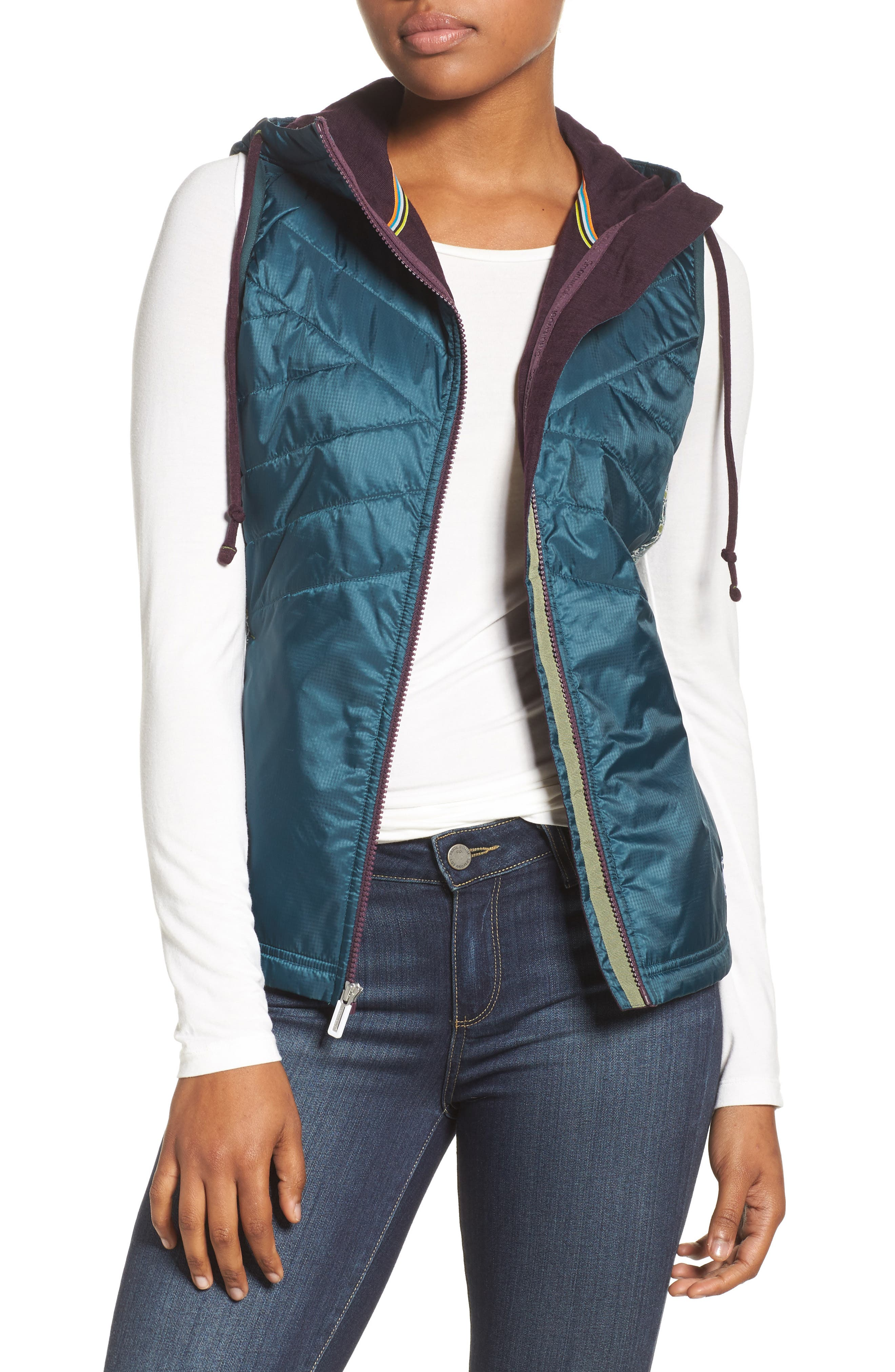 Smartwool Quilted Double Propulsion 60 Hooded Vest