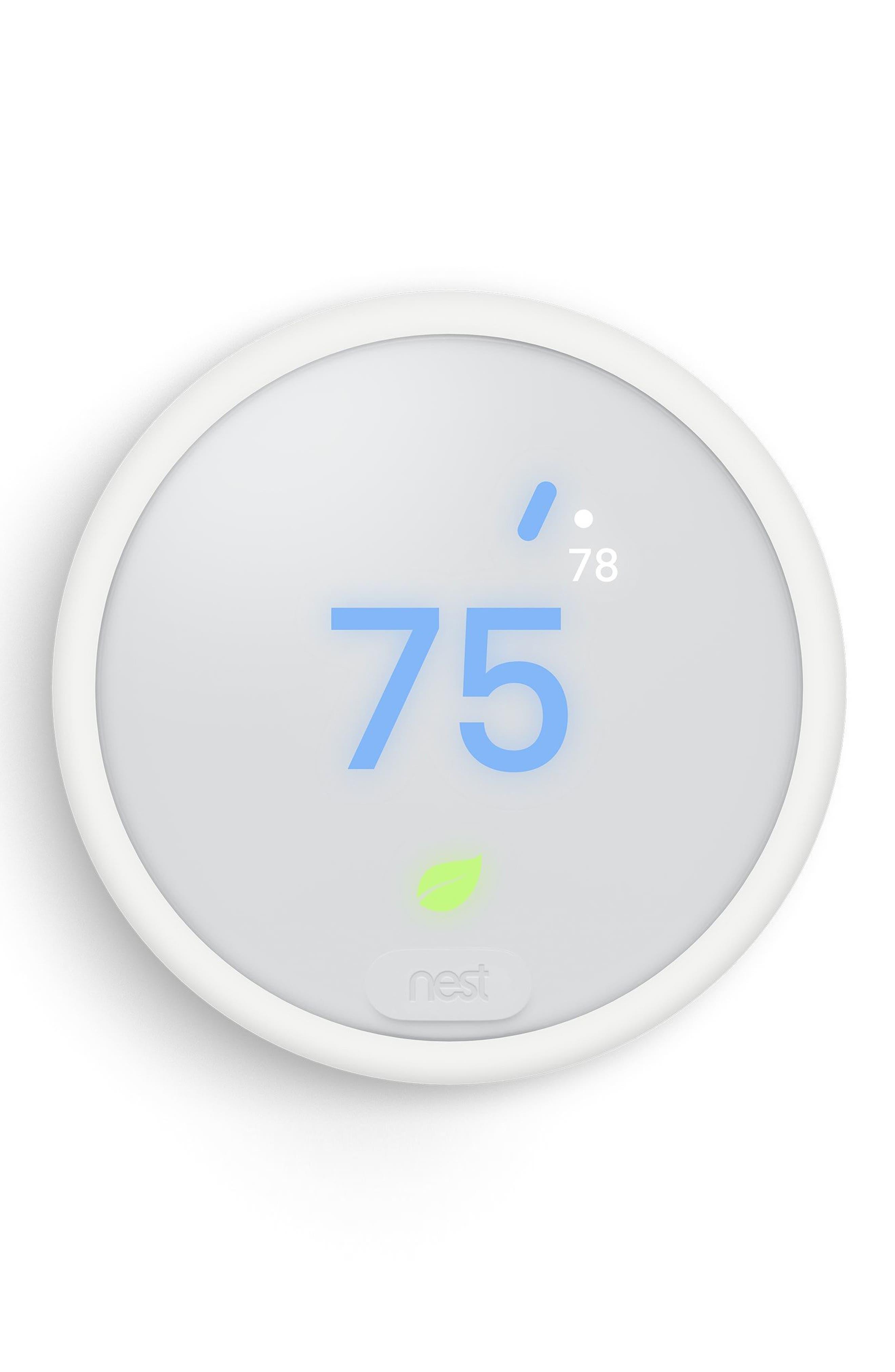 Thermostat E,                             Alternate thumbnail 2, color,                             White