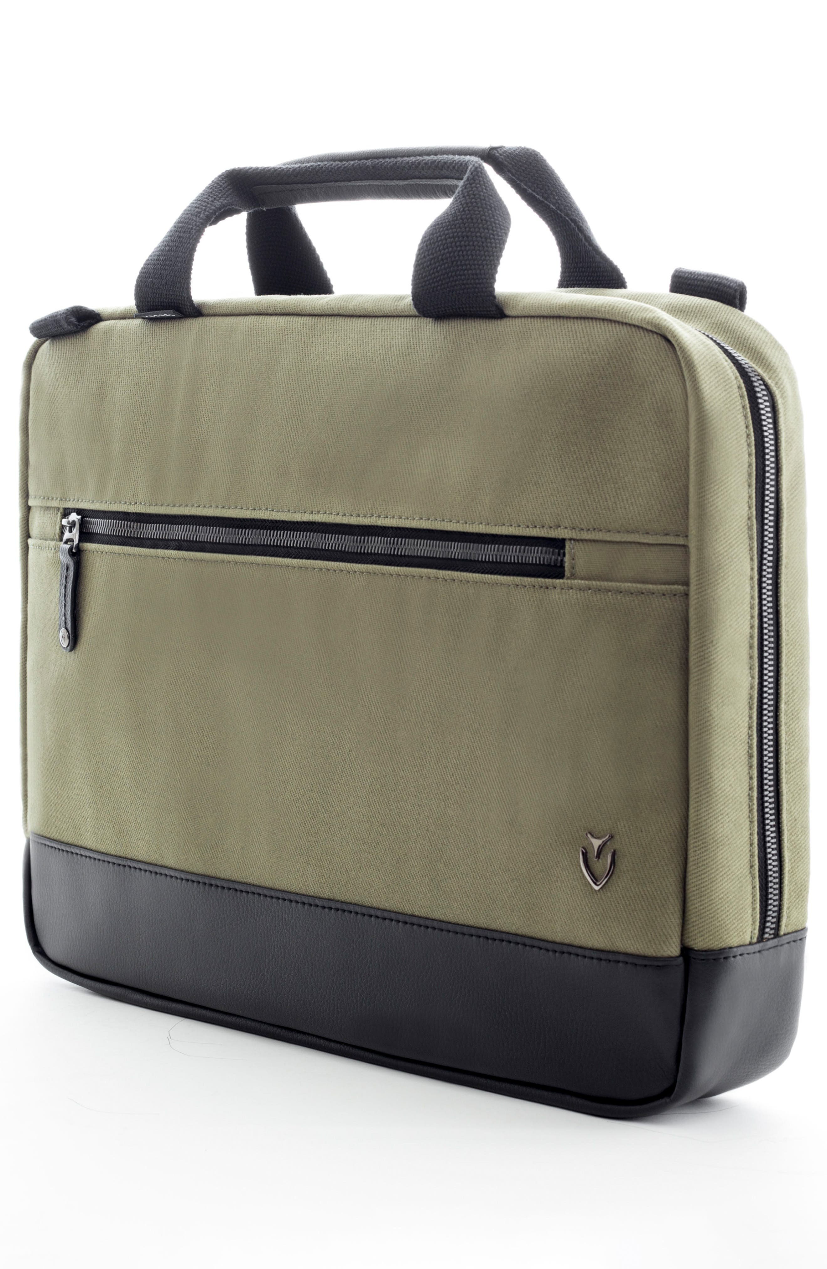 Refined Briefcase,                             Alternate thumbnail 3, color,                             Olive