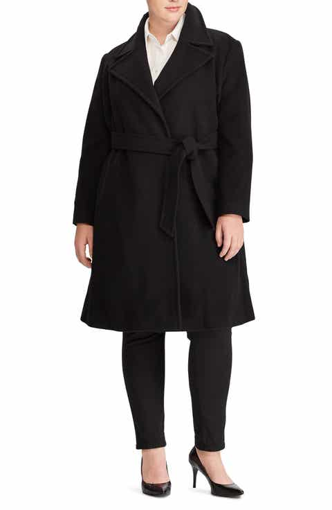 Women's Cashmere Blend Plus-Size Coats & Jackets | Nordstrom