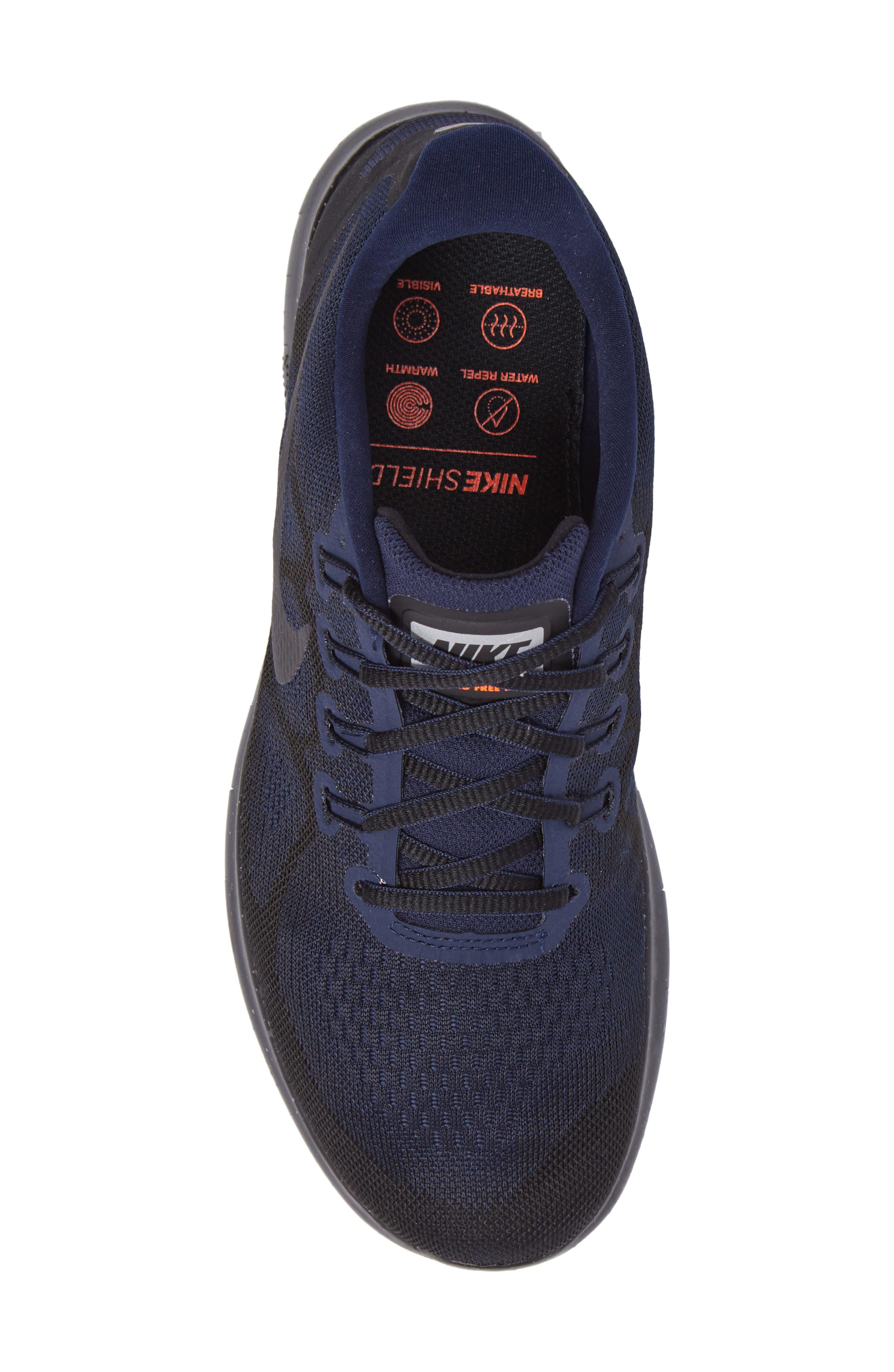 Alternate Image 5  - Nike Free RN 2017 Shield Water-Repellent Training Shoe (Men)