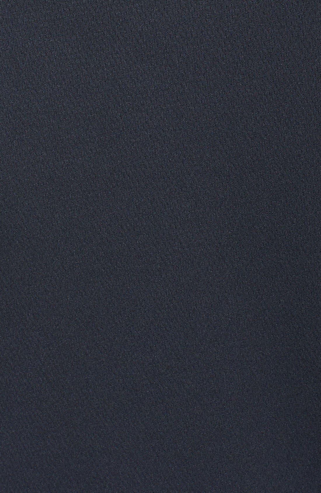 Philadelphia Eagles - Edge DryTec Moisture Wicking Half Zip Pullover,                             Alternate thumbnail 3, color,                             Black