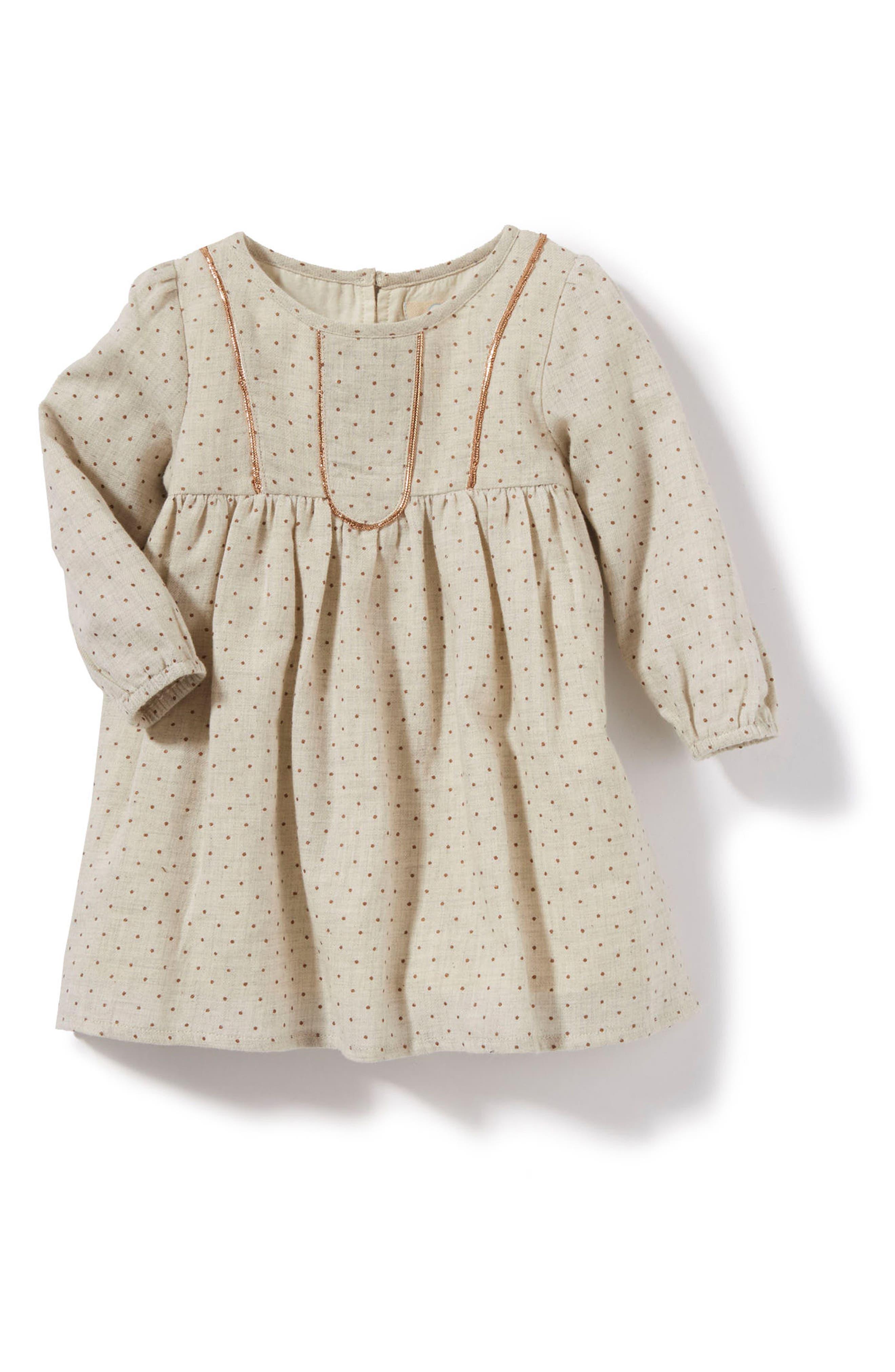 Alternate Image 1 Selected - Peek Scarlet Dress (Baby Girls)
