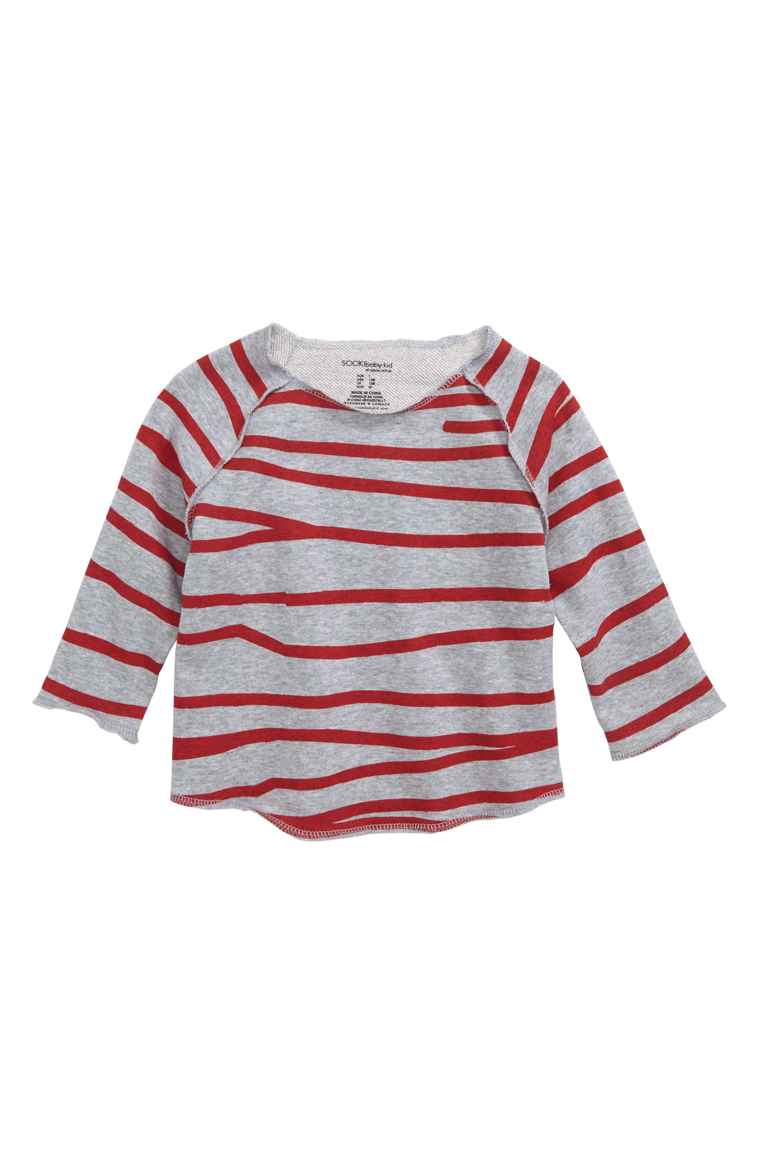 Main Image - SOOKIbaby Stripe Shirt (Baby)