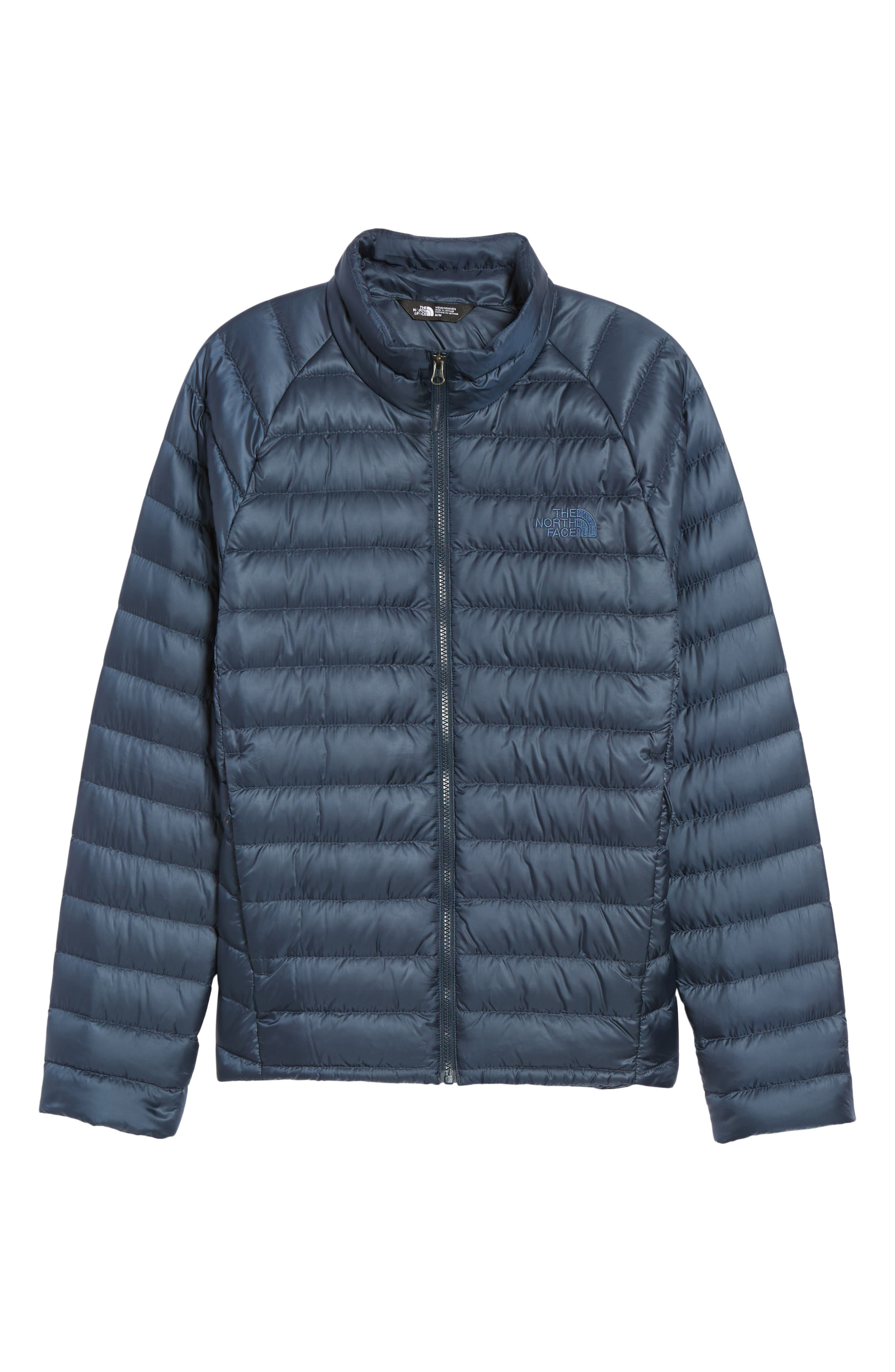 Trevail Water Repellent Packable Down Jacket,                             Alternate thumbnail 6, color,                             Urban Navy/ Urban Navy