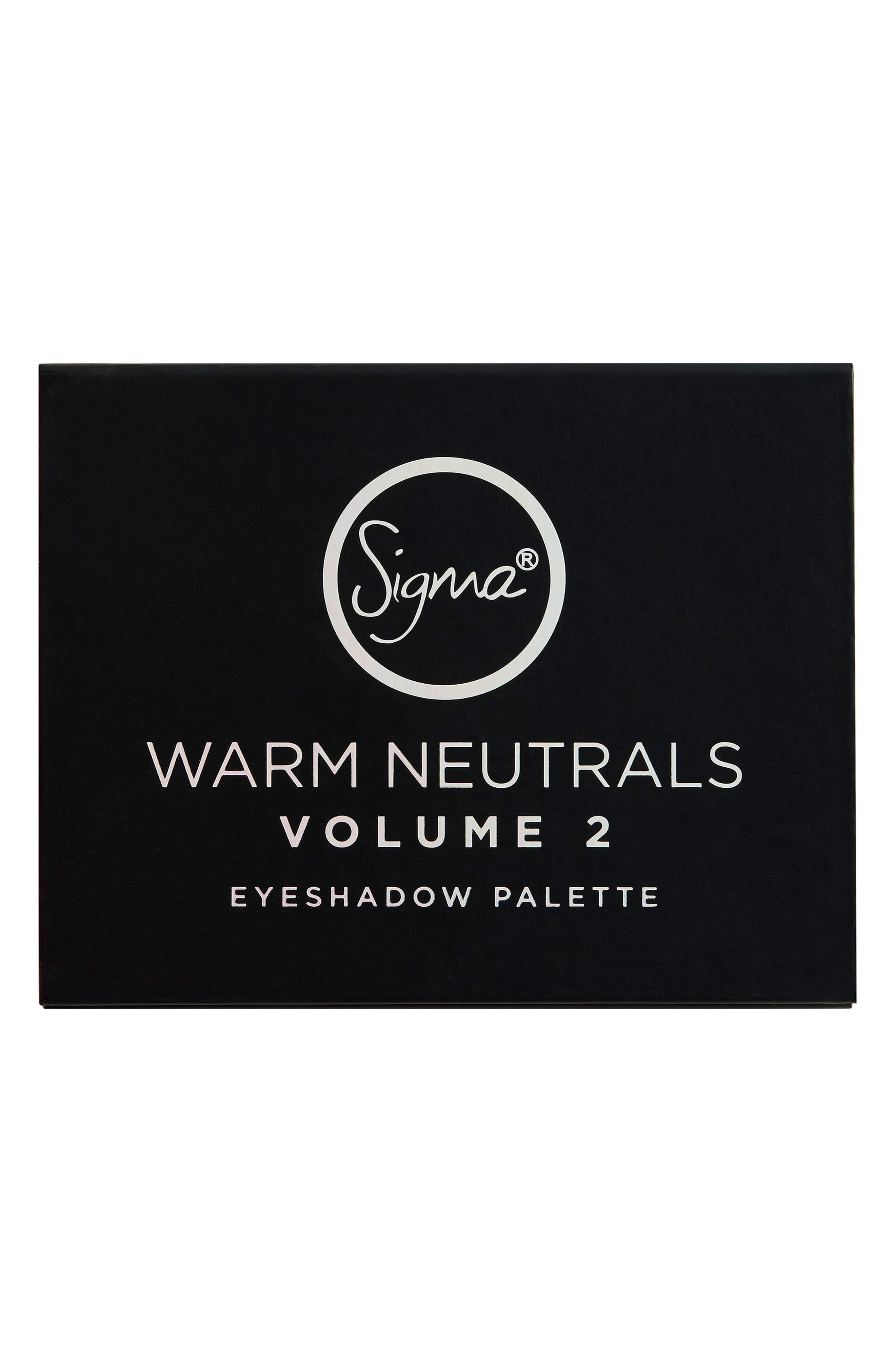 Alternate Image 3  - Sigma Beauty Warm Neutrals Volume 2 Palette
