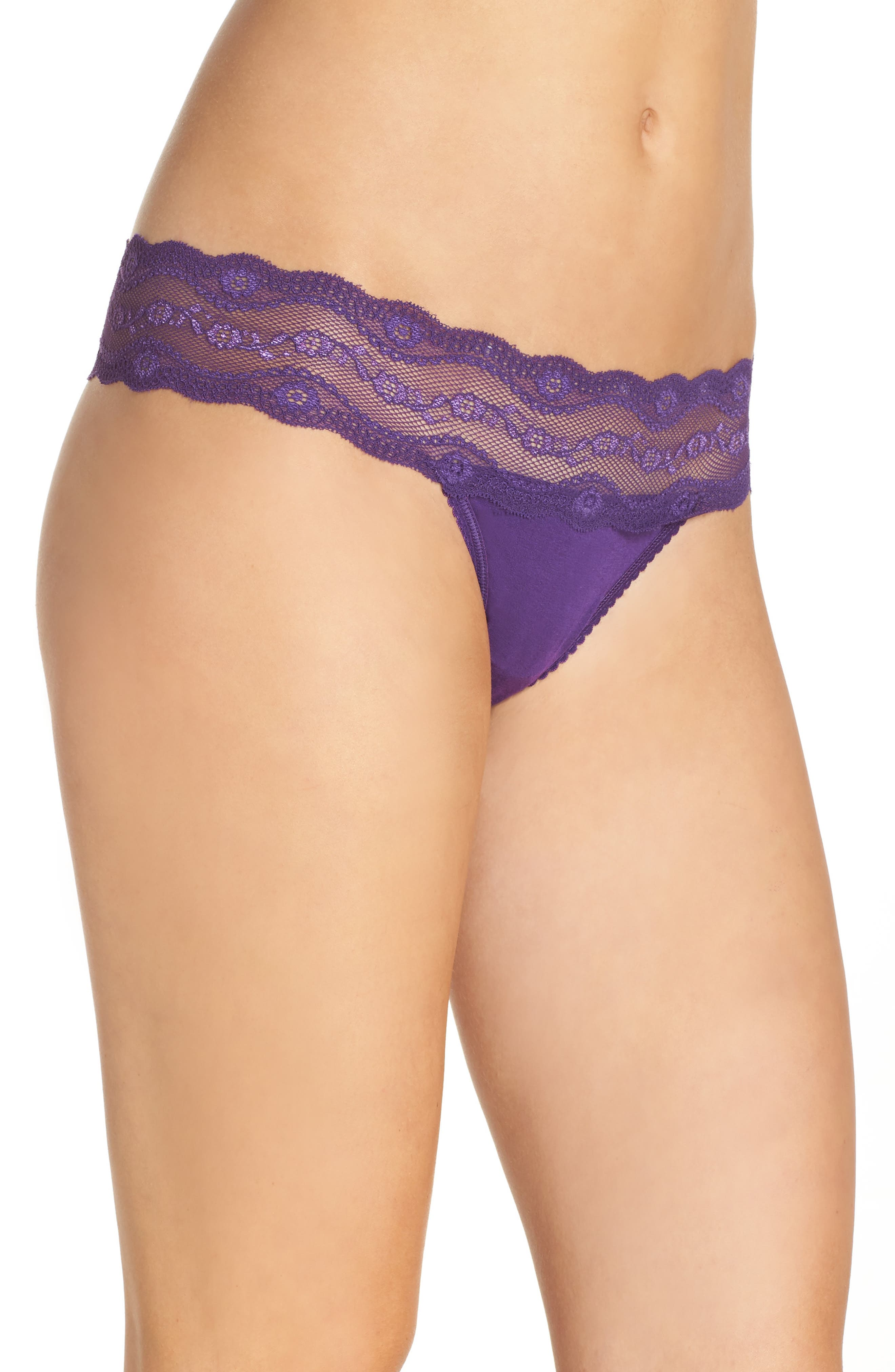 Alternate Image 3  - b.tempt'd by Wacoal B. Adorable Thong (3 for $33)