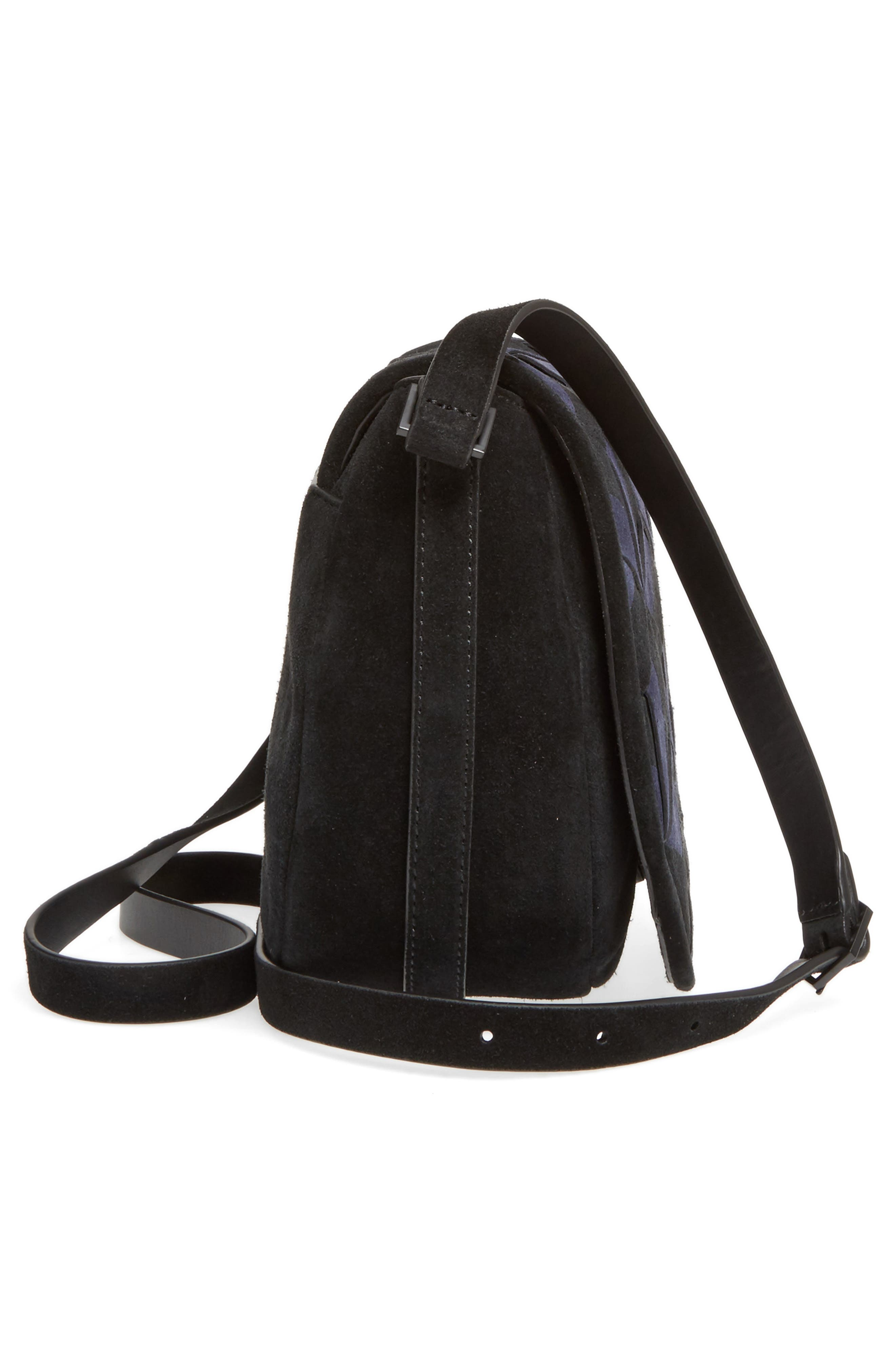 Alternate Image 5  - WELDEN Escapade Suede Saddle Bag