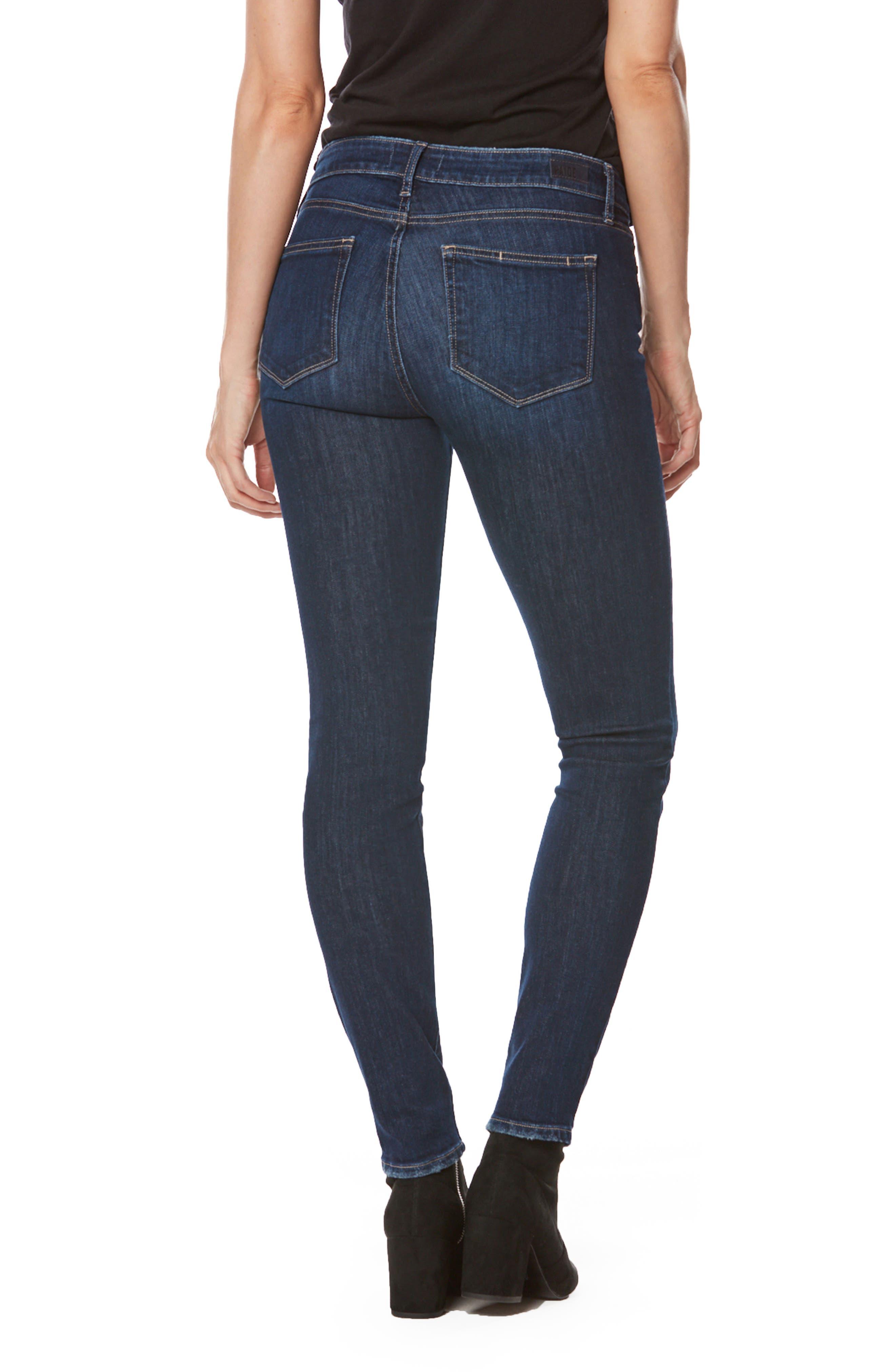 Transcend - Verdugo Ultra Skinny Jeans,                             Alternate thumbnail 3, color,                             Davidson Destructed