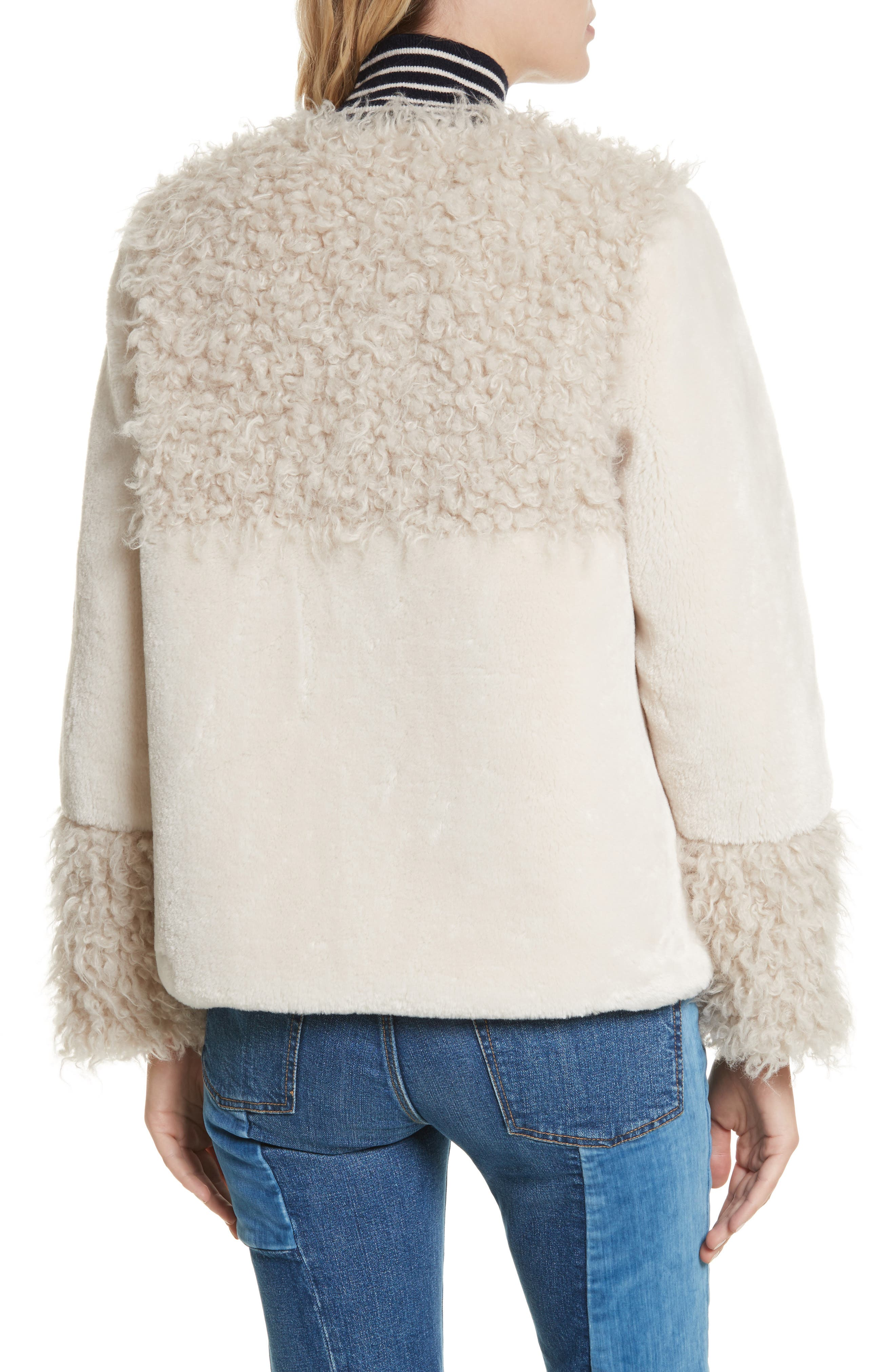 Alternate Image 3  - La Vie Rebecca Taylor Mixed Faux Fur Coat