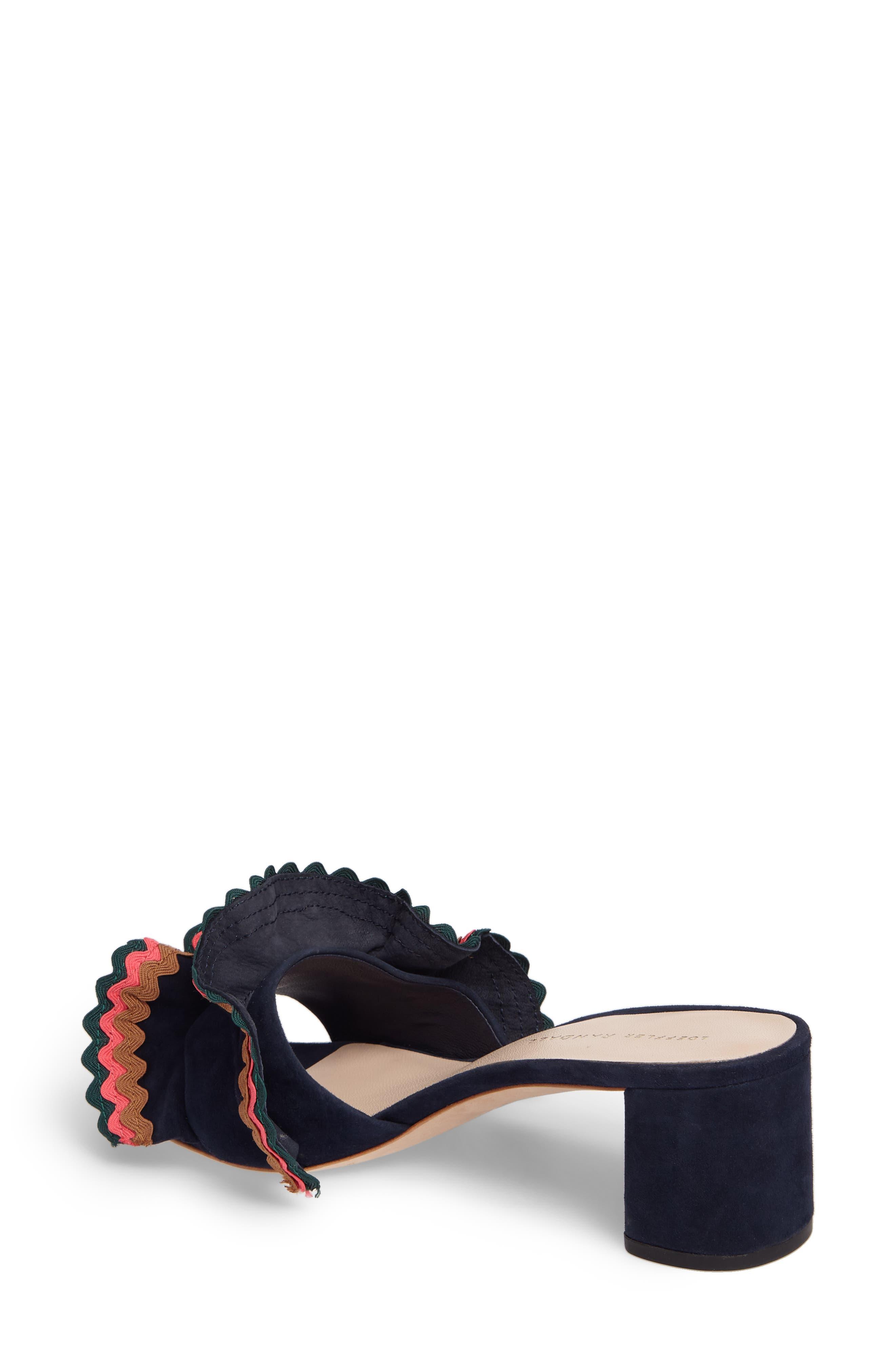 Alternate Image 2  - Loeffler Randall Vera Ruffled Slide Sandal (Women)