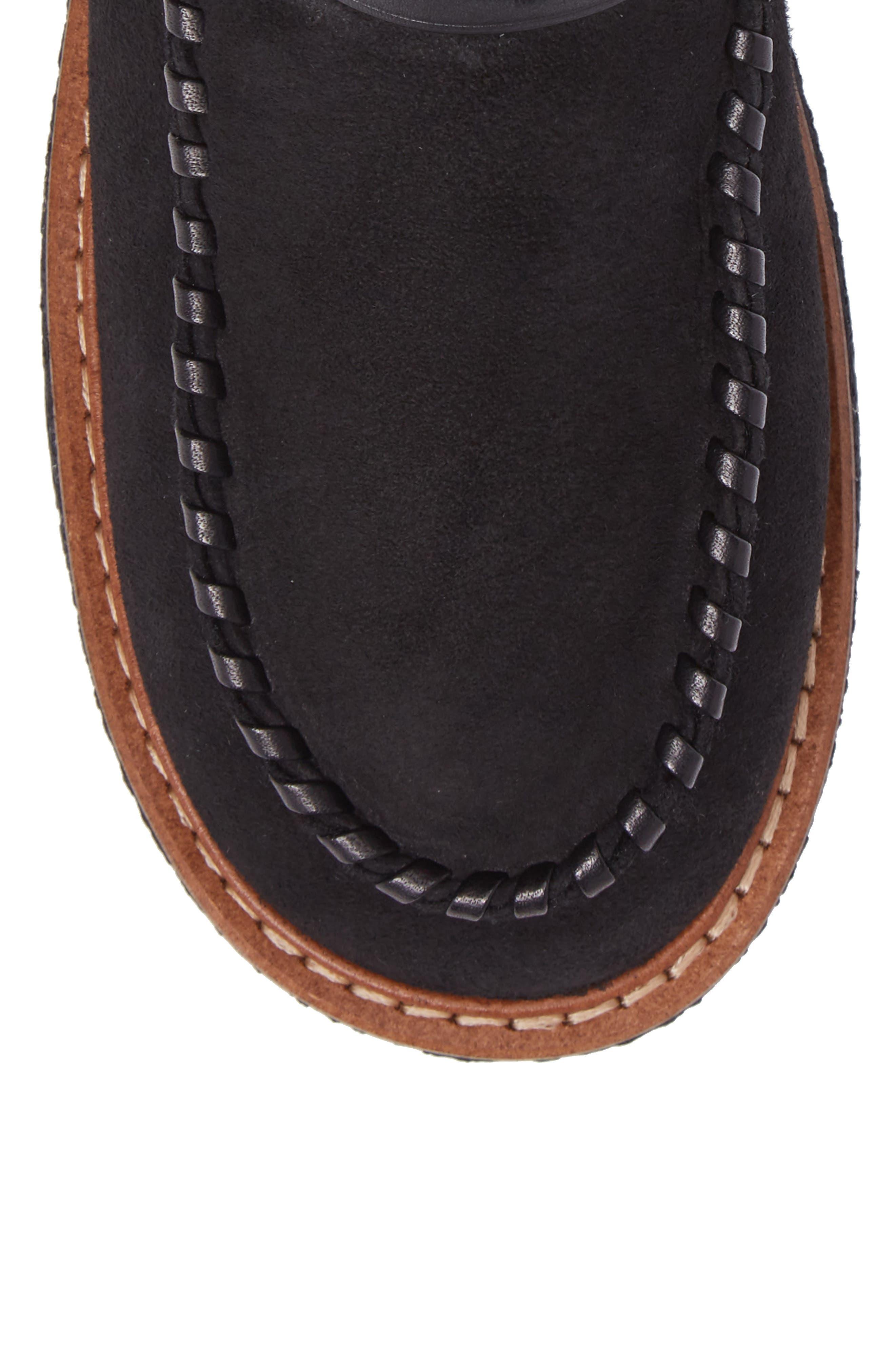 Alternate Image 5  - COACH Genuine Shearling Moto Boot (Women)