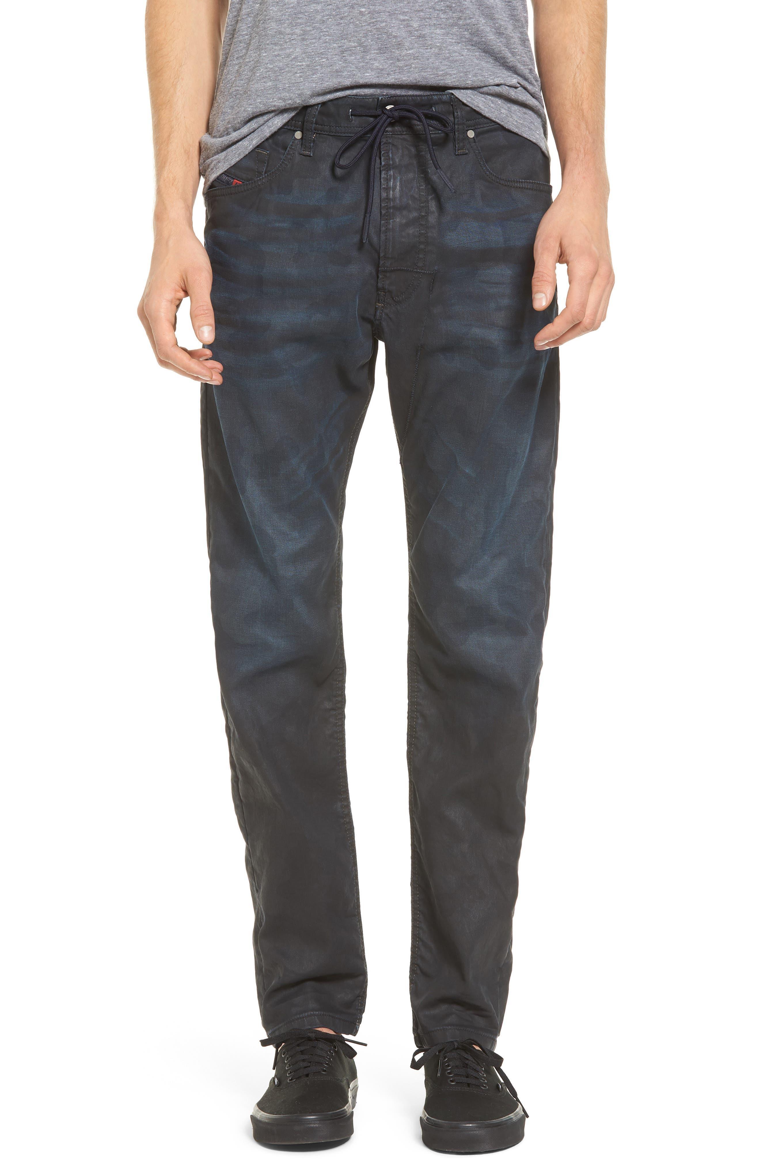 Alternate Image 1 Selected - DIESEL® Narrot Slouchy Skinny Fit Jeans