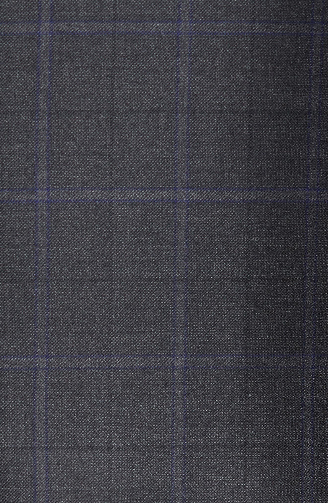 Alternate Image 5  - Peter Millar Classic Fit Windowpane Wool Sport Coat