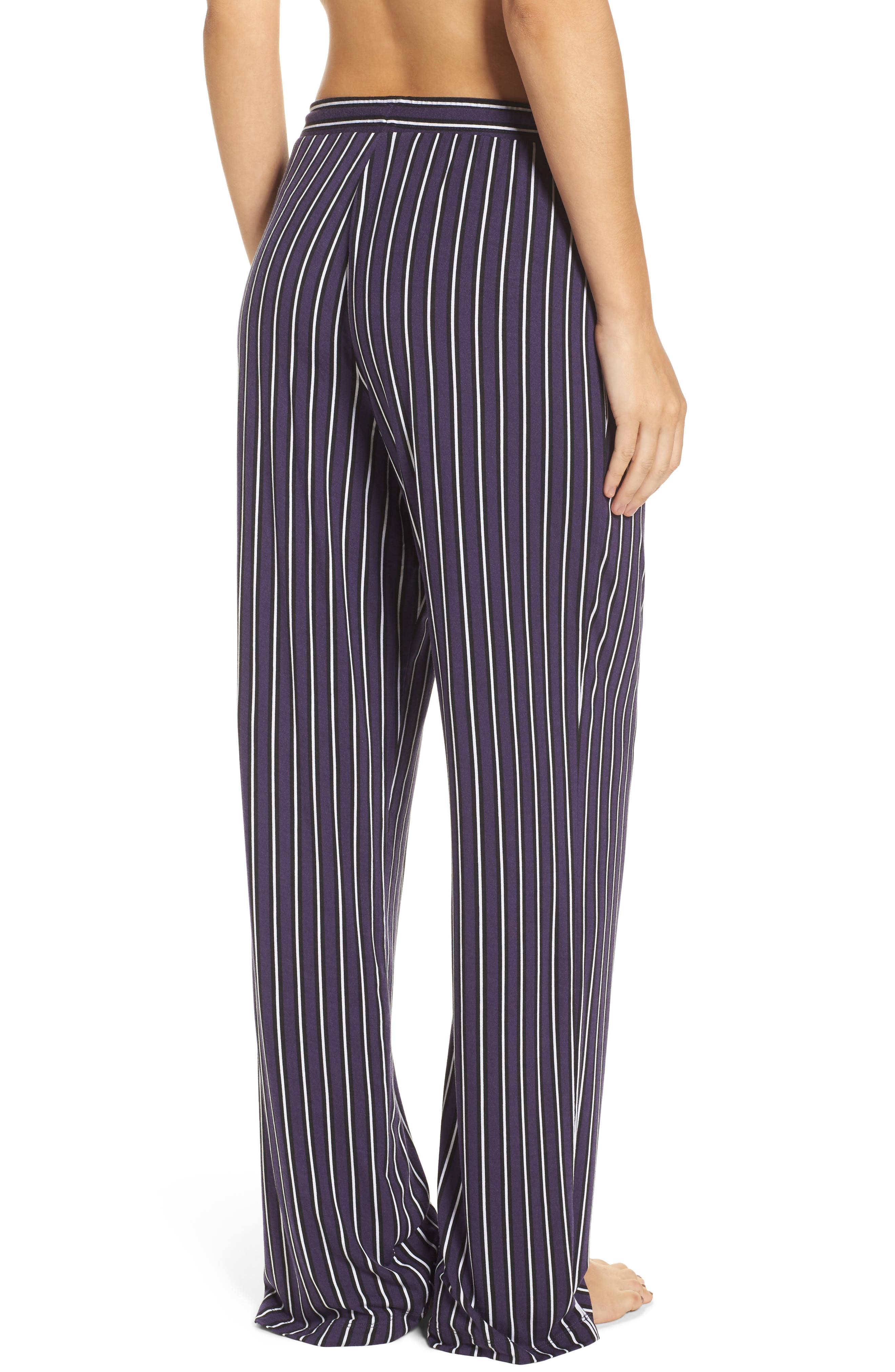 Alternate Image 2  - DKNY Jersey Lounge Pants