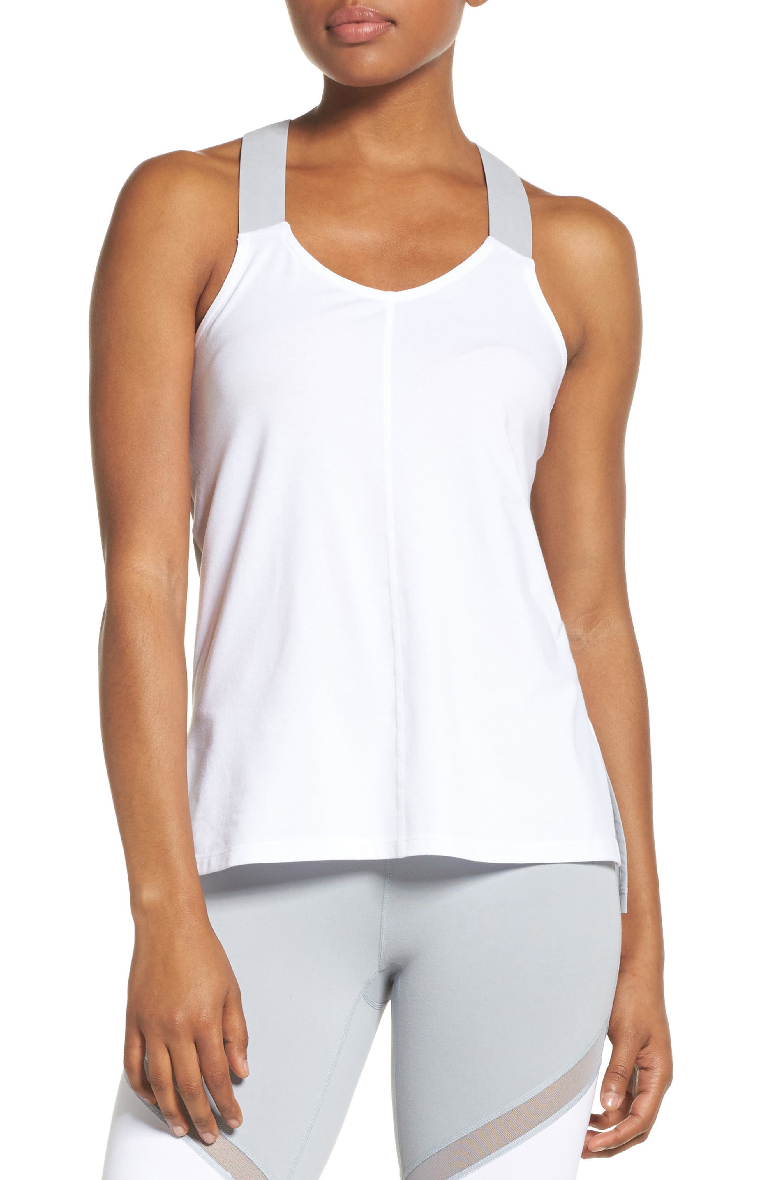 Taylor Performance Tank,                         Main,                         color, White