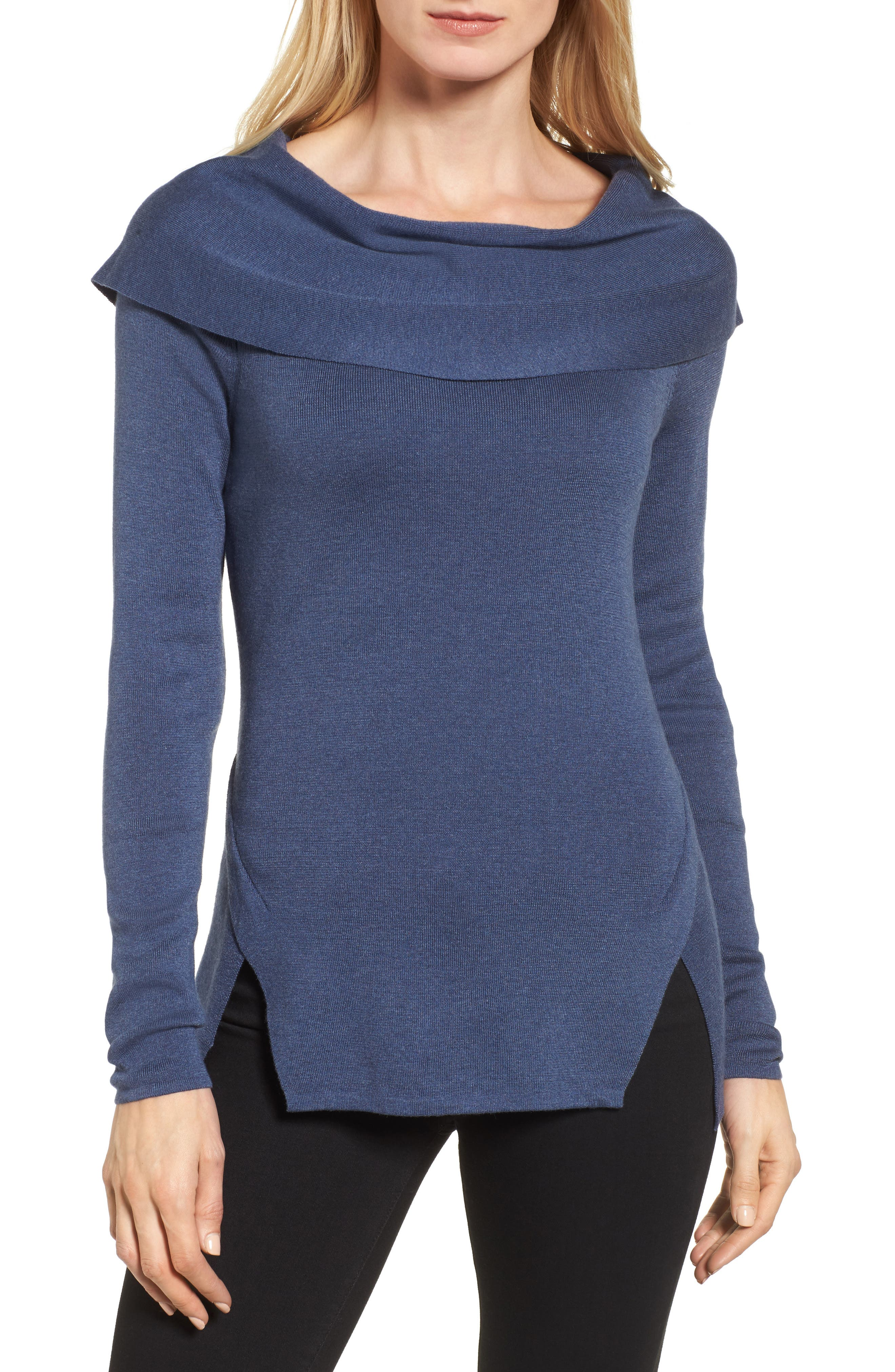 Vista Top,                             Main thumbnail 1, color,                             Faded Navy