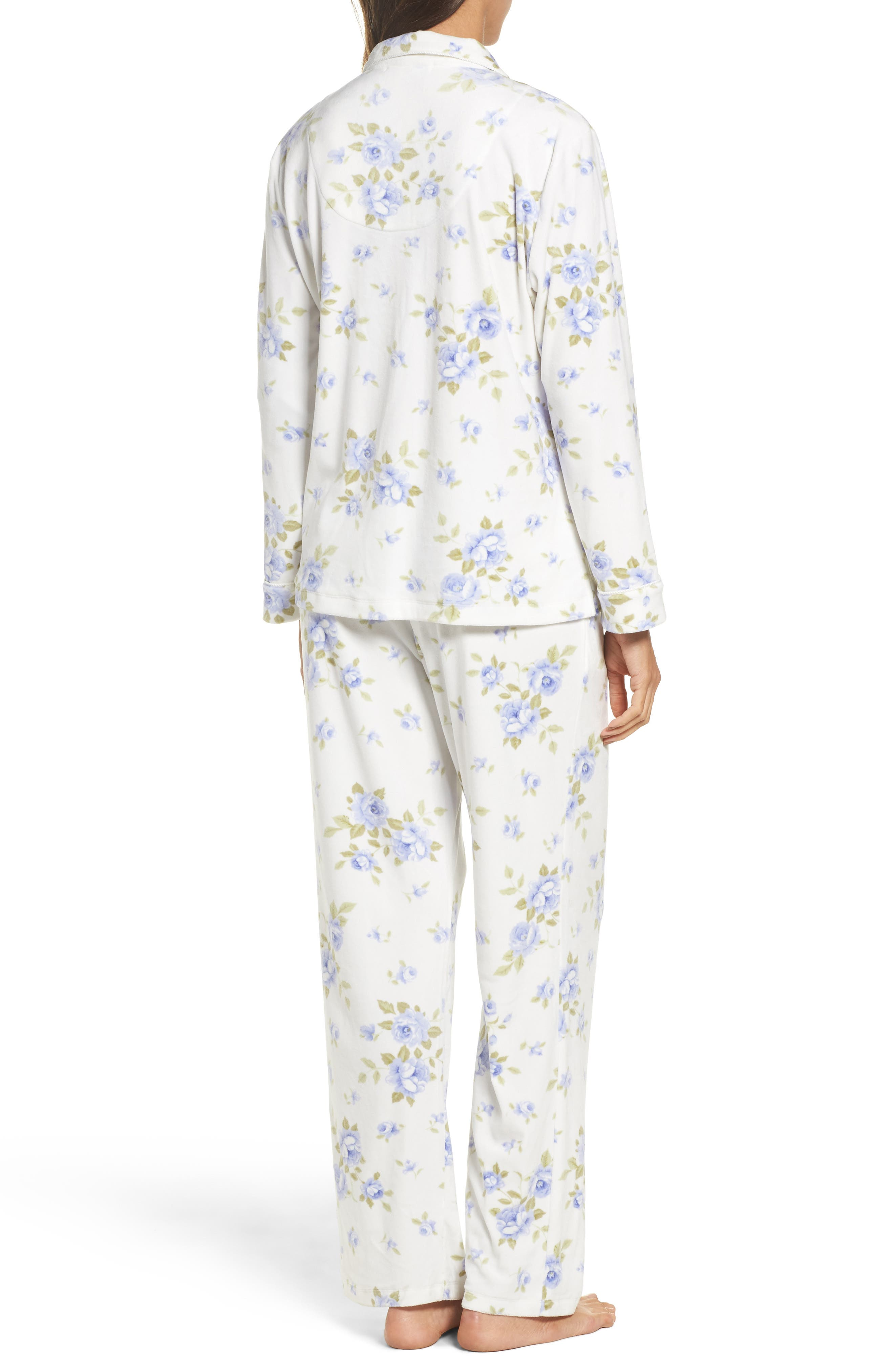 Alternate Image 2  - Carole Hochman Fleece Pajamas