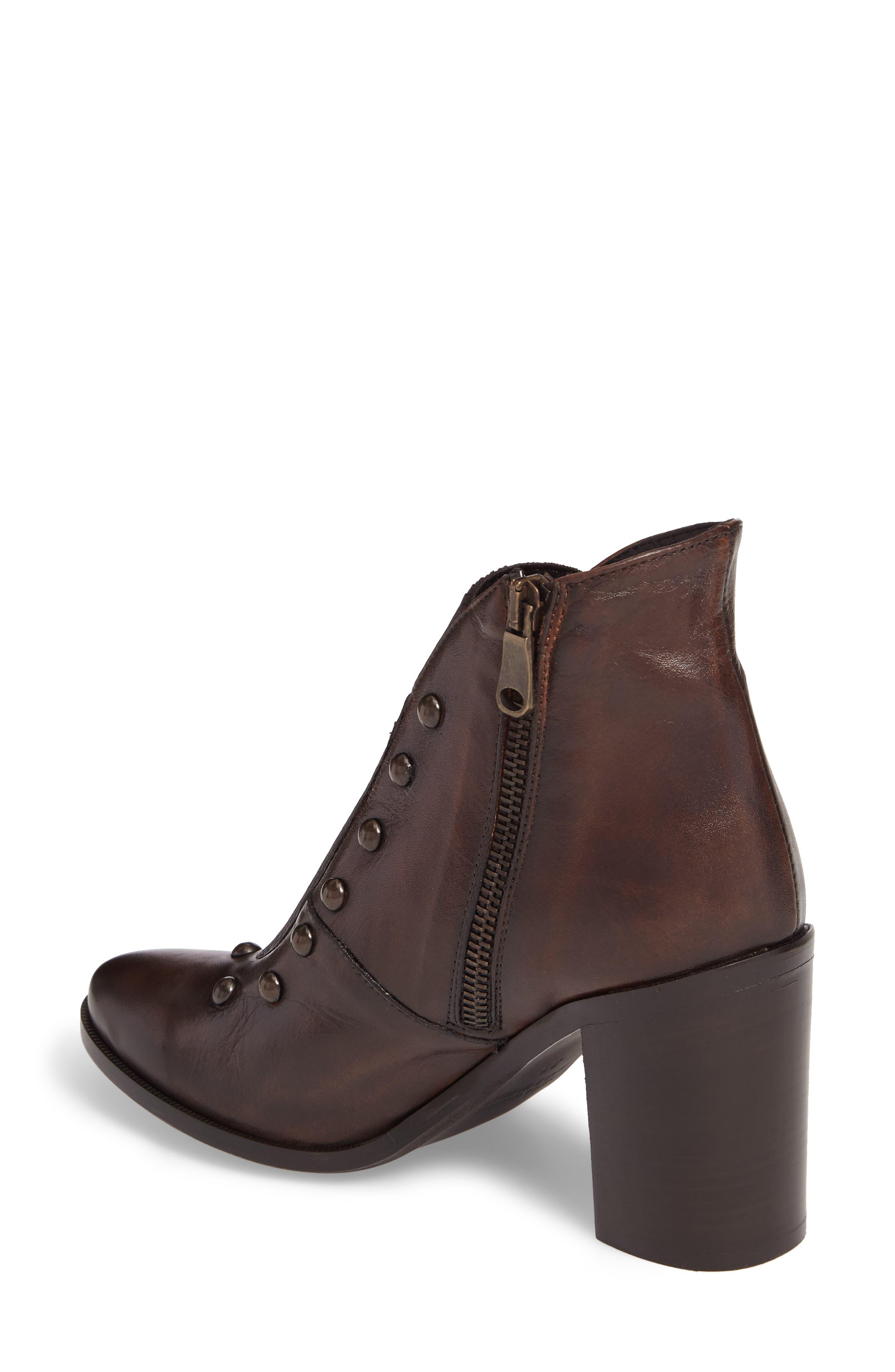 Beatrix Studded Bootie,                             Alternate thumbnail 2, color,                             Deer Leather