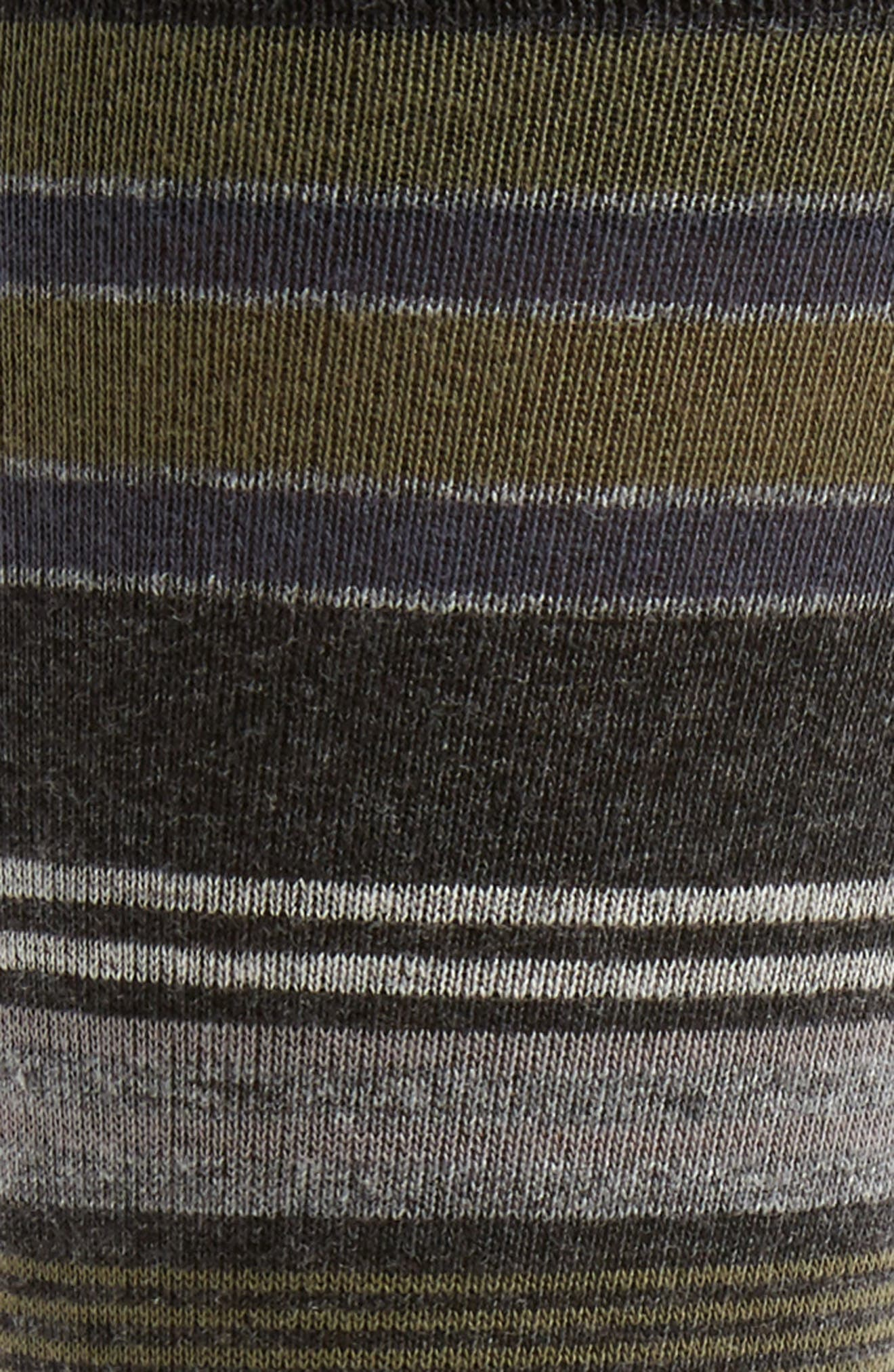 Alternate Image 2  - Nordstrom Men's Shop Random Stripe Socks (3 for $30)