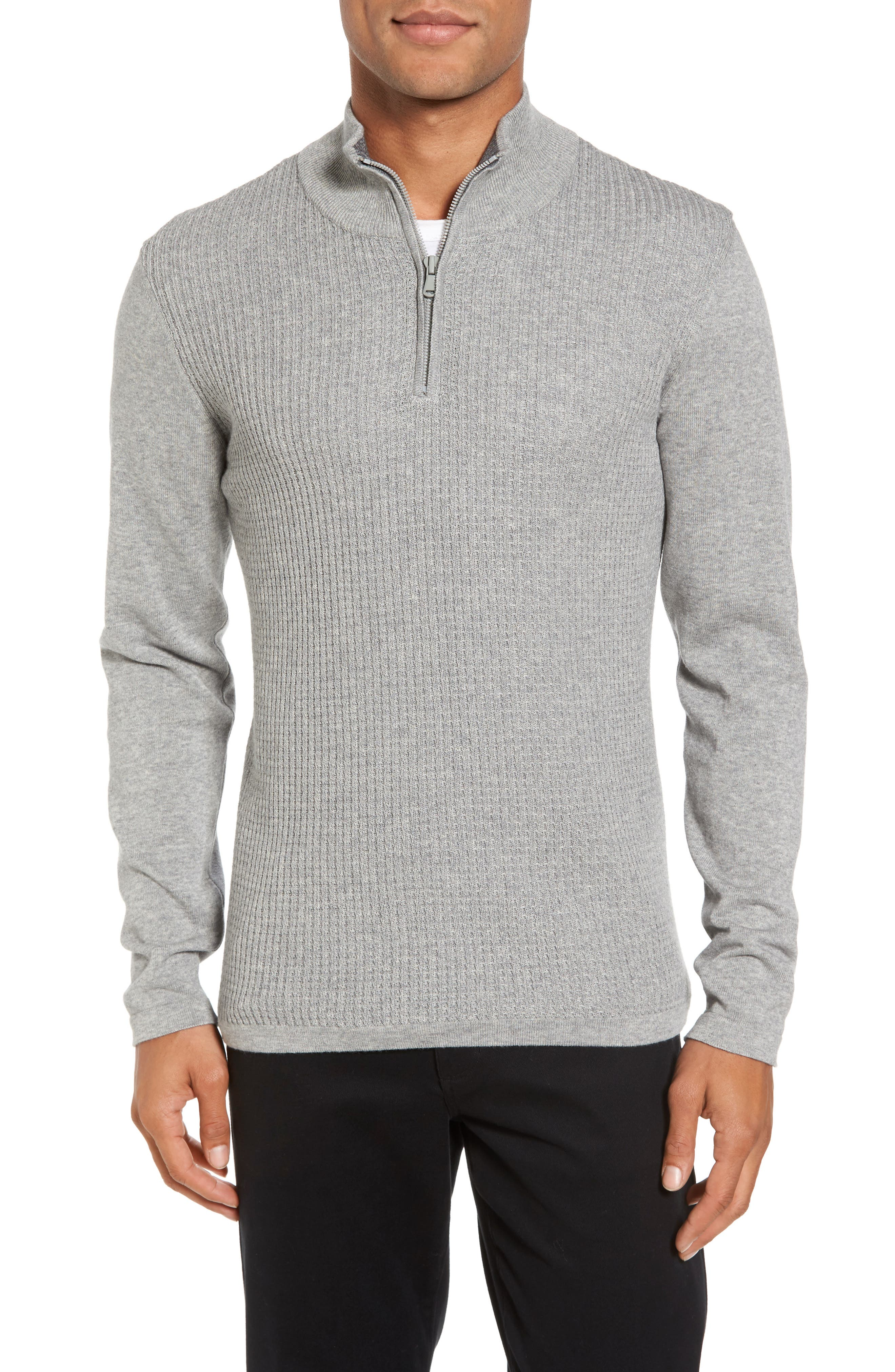 Main Image - Zachary Prell Higgins Quarter Zip Sweater