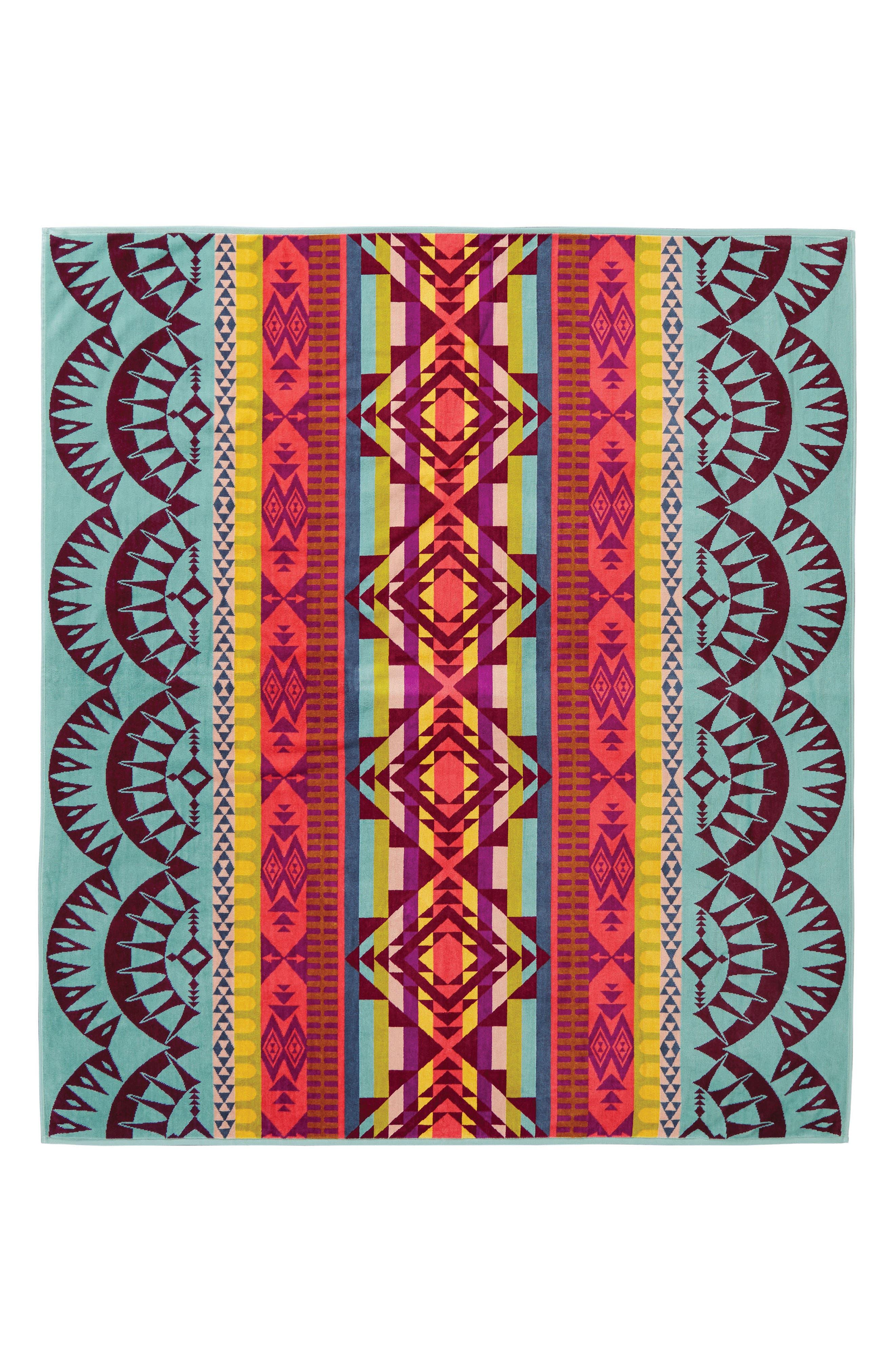 Point Reyes Blanket,                             Main thumbnail 1, color,                             Aqua