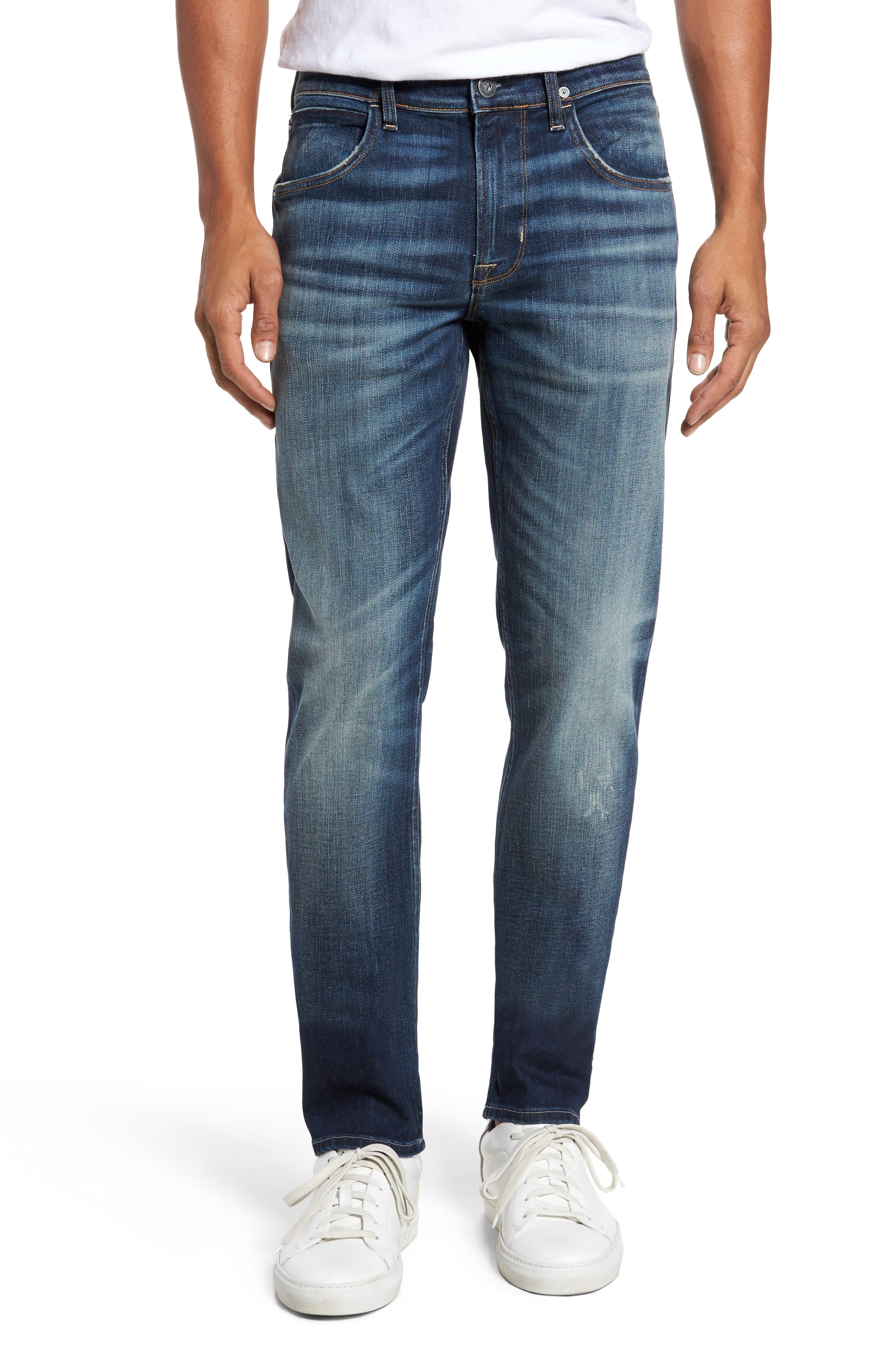 Hudson Blake Slim Fit Jeans,                             Main thumbnail 1, color,                             Ban This