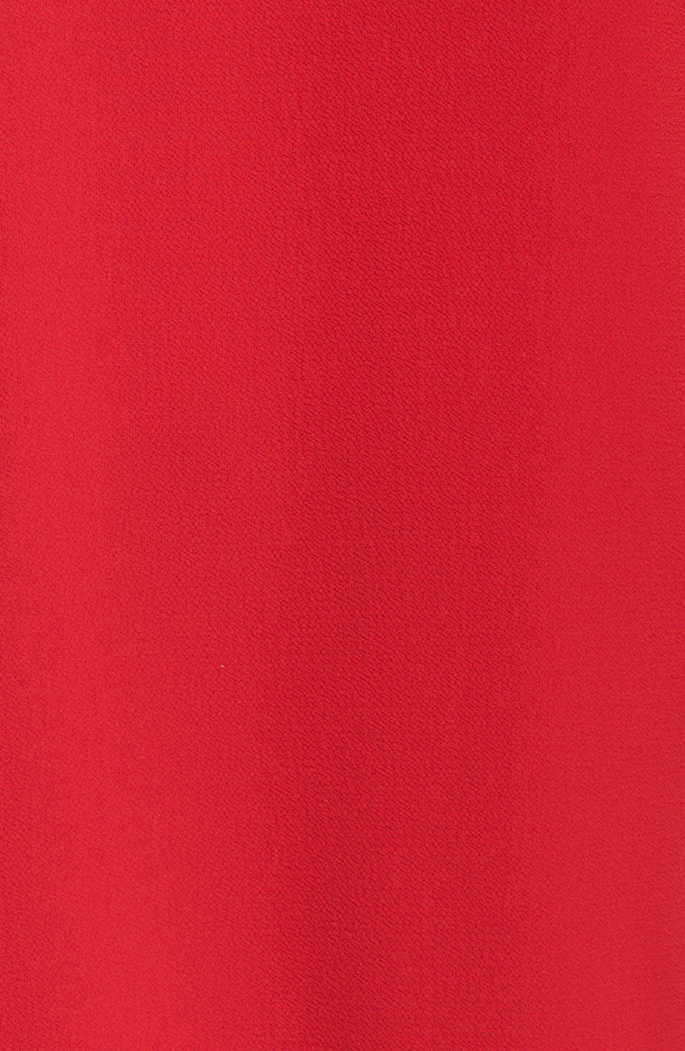 Alternate Image 5  - Vince Camuto Asymmetrical Ruffle Cold Shoulder Top (Plus Size)