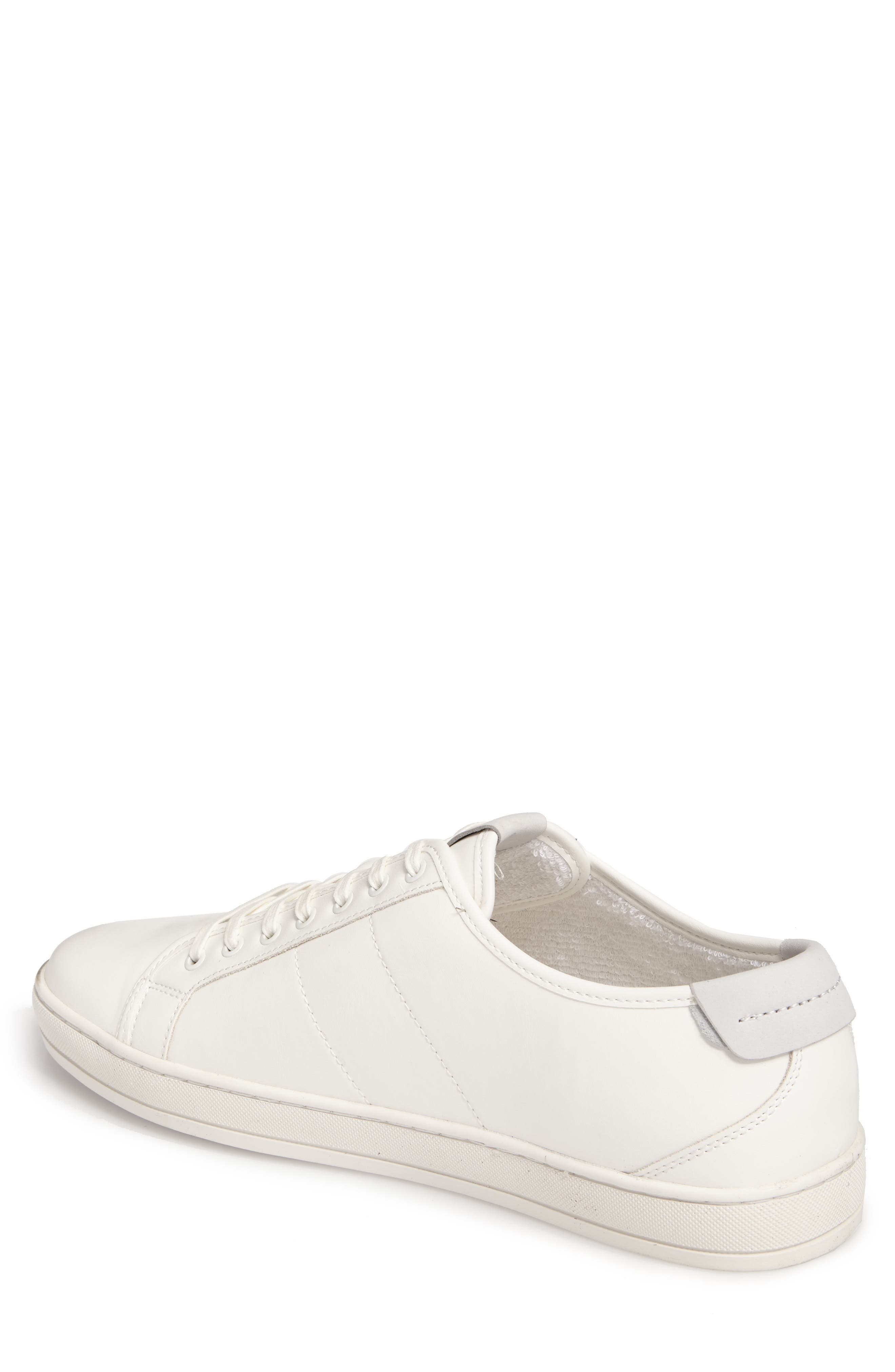 Delello Low-Top Sneaker,                             Alternate thumbnail 2, color,                             White