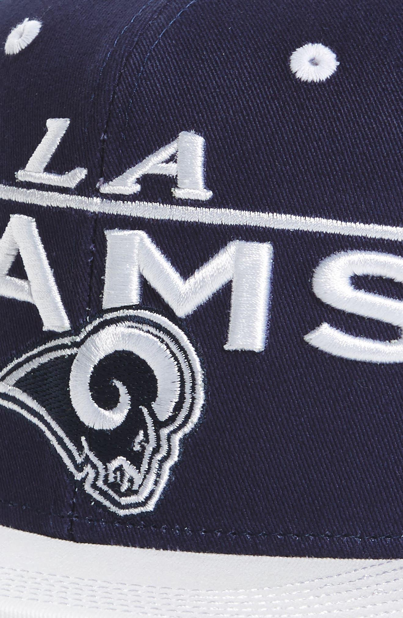 Alternate Image 3  - NFL Logo Retro Bar Baseball Cap (Kids)
