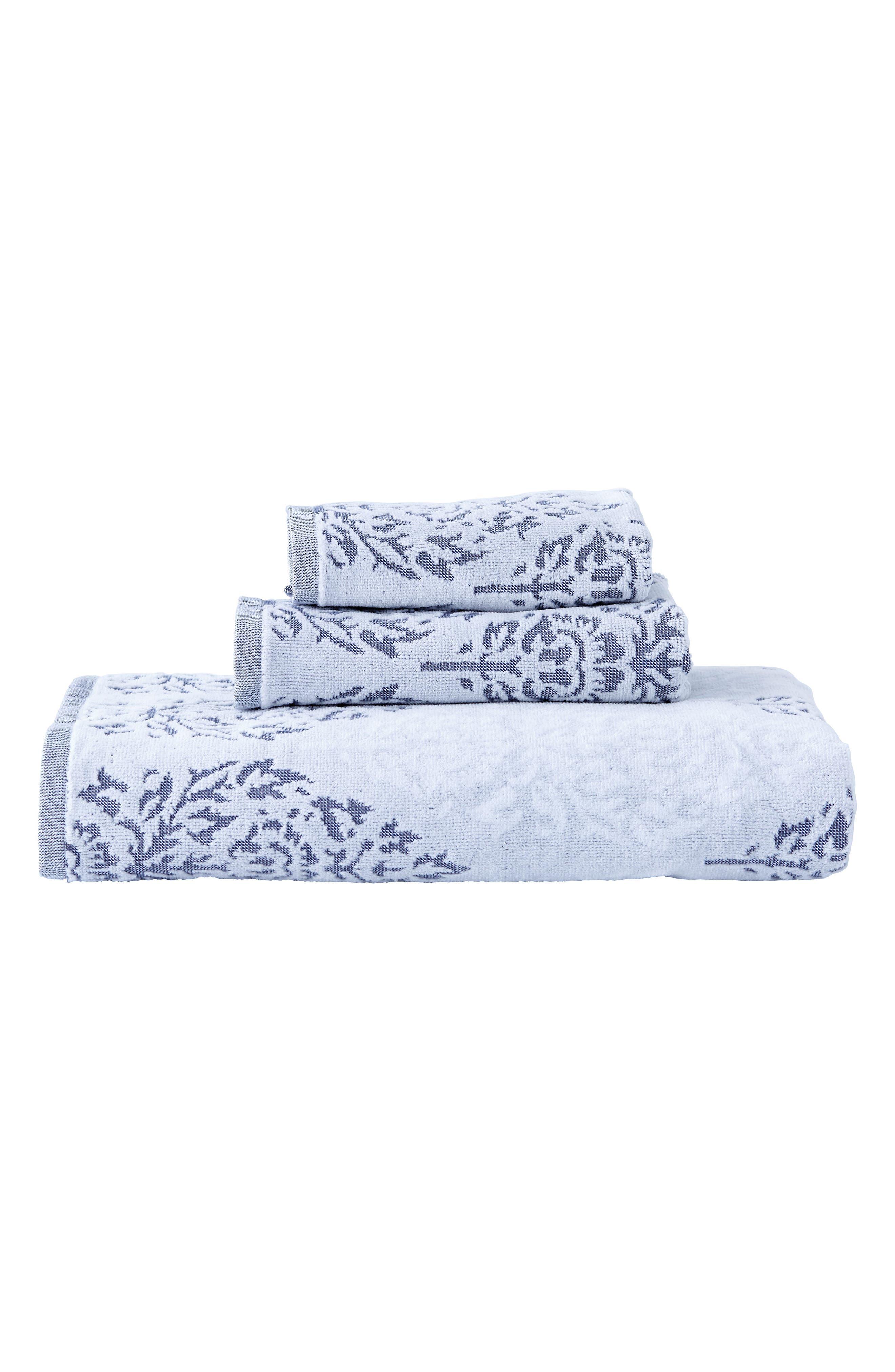 Jalati Hand Towel,                             Alternate thumbnail 2, color,                             Indigo