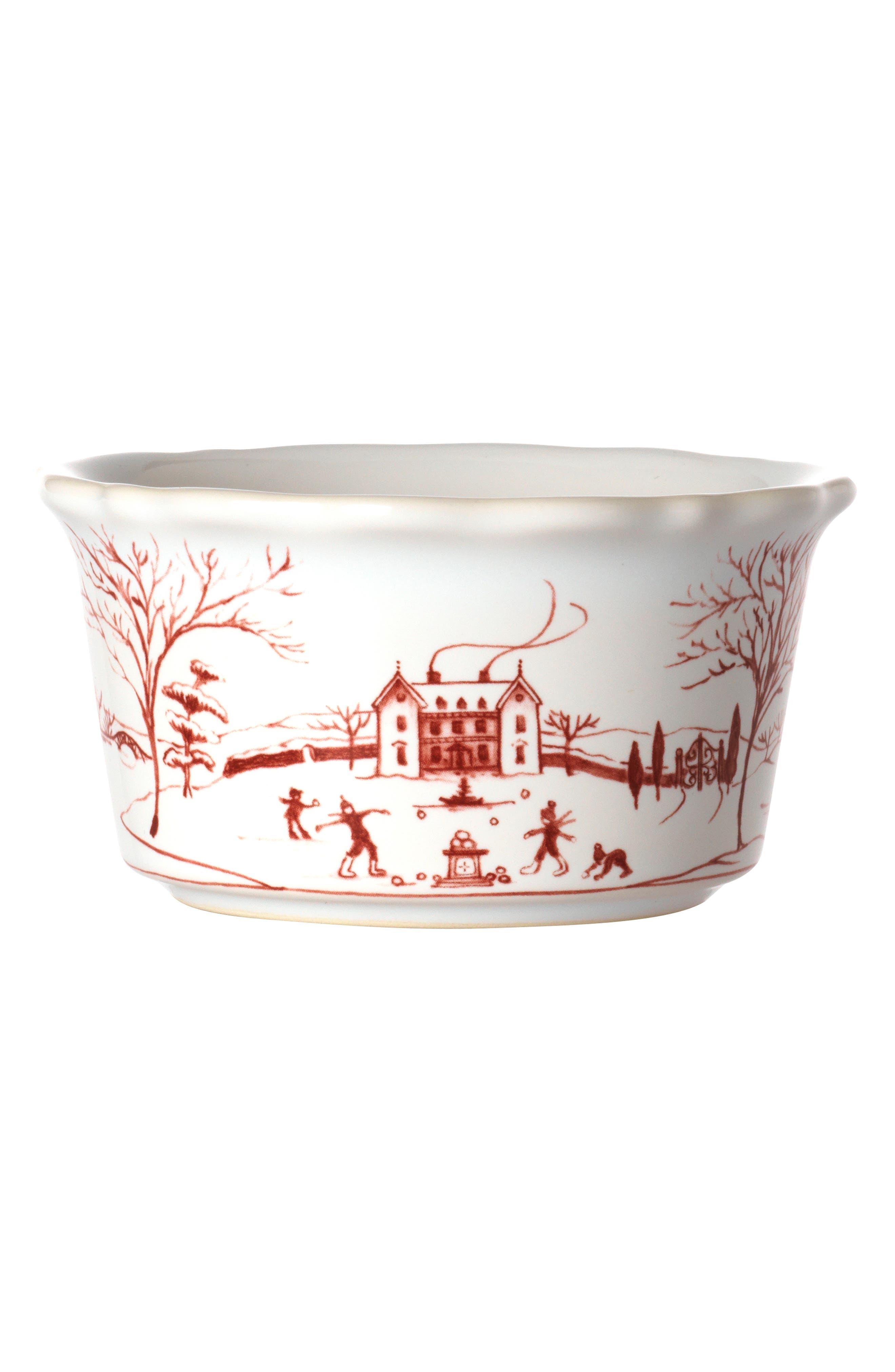 Juliska Winter Frolic Ceramic Ramekin