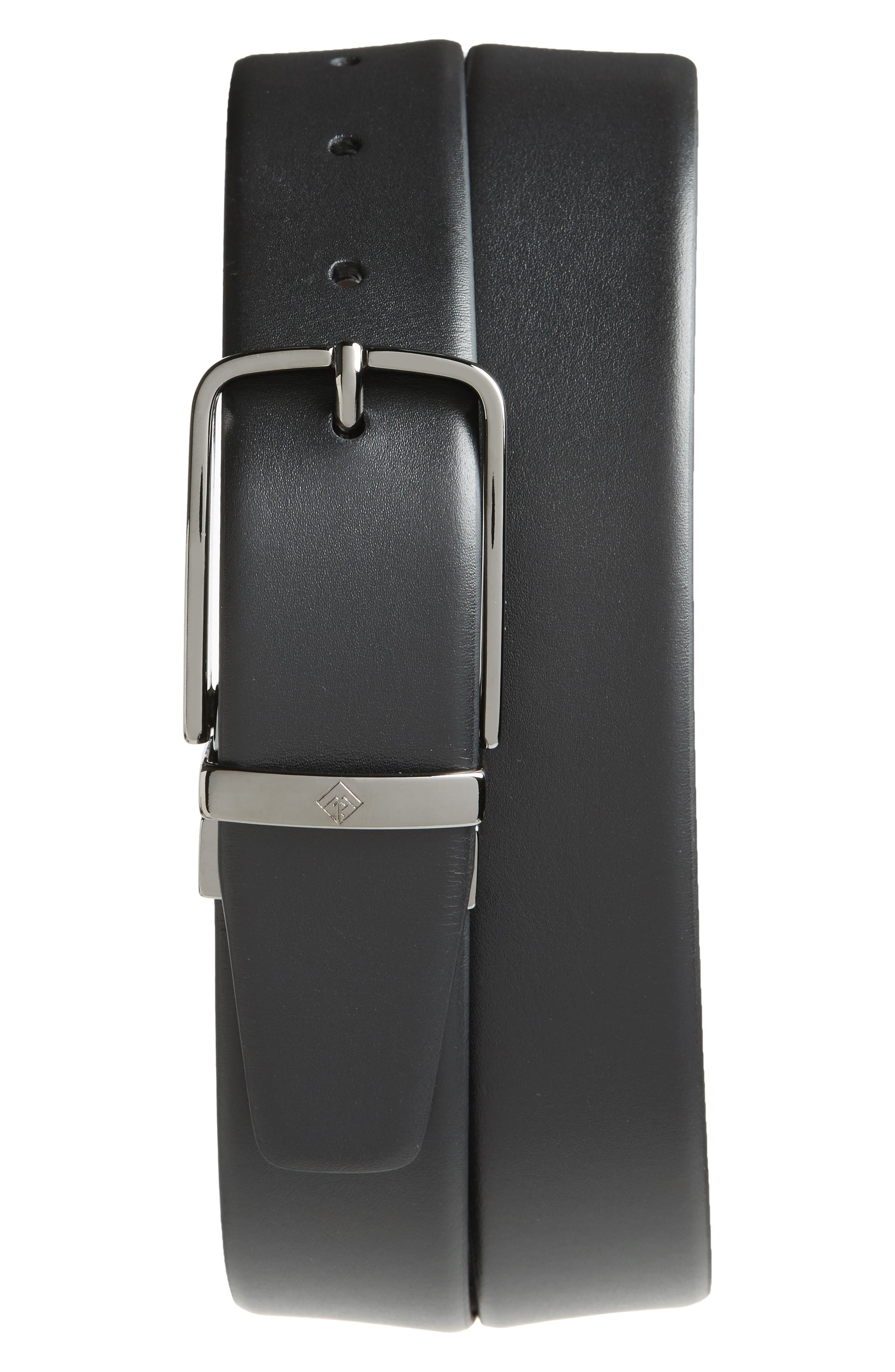 Alternate Image 1 Selected - Monte Rosso Matteo Reversible Leather Belt