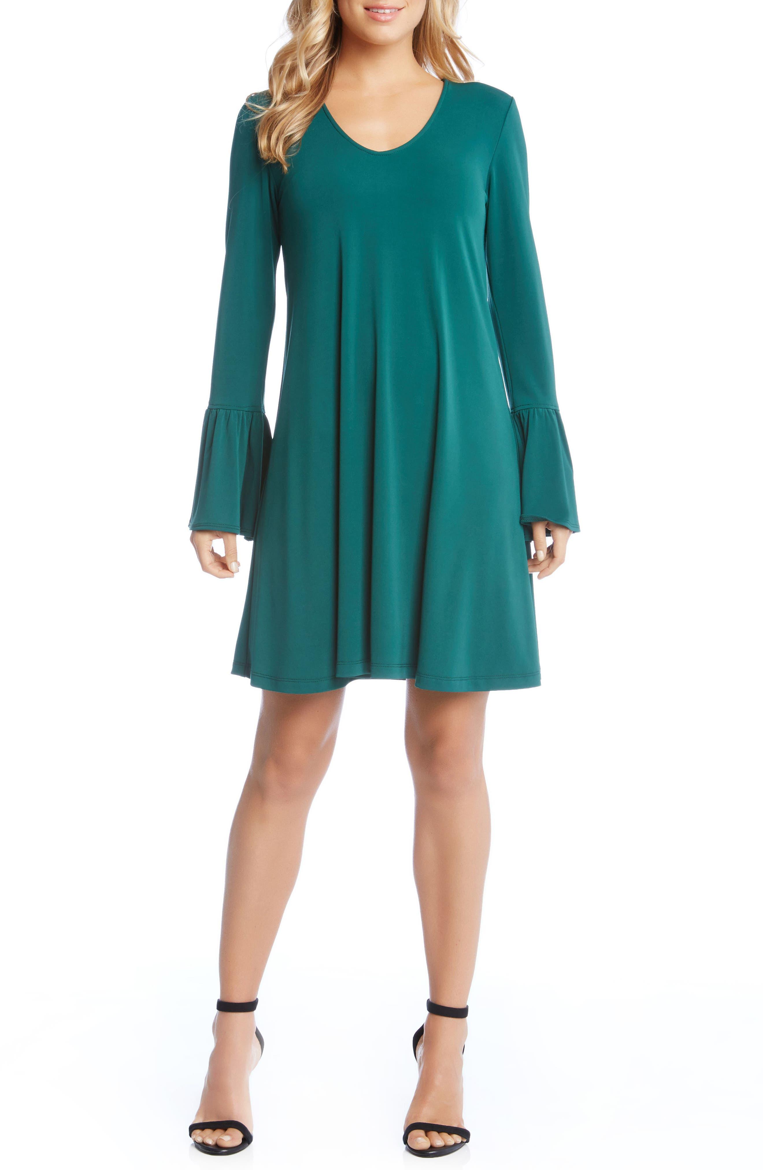 Alternate Image 4  - Karen Kane Bell Sleeve Dress